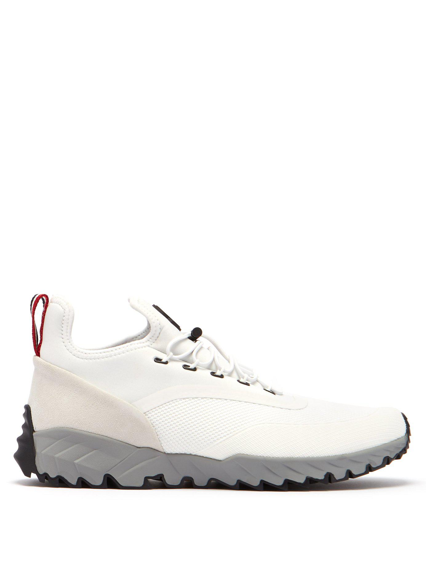 64899801d Lyst - Moncler Jericho Low Top Trainers in White for Men