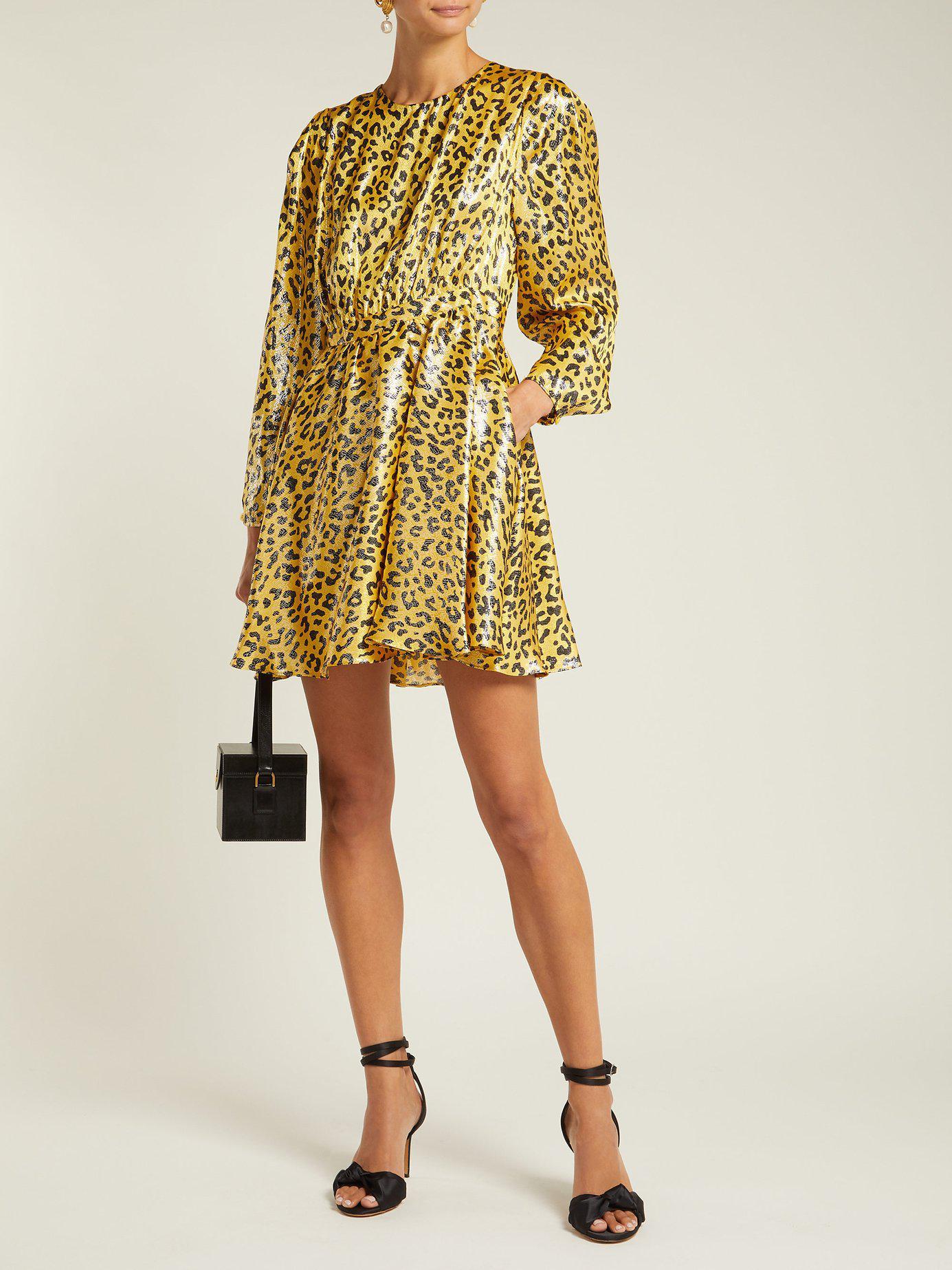 Jacquard Heyford Lyst Furstenberg Diane Leopard Von Silk Blend wAxt1XSqx