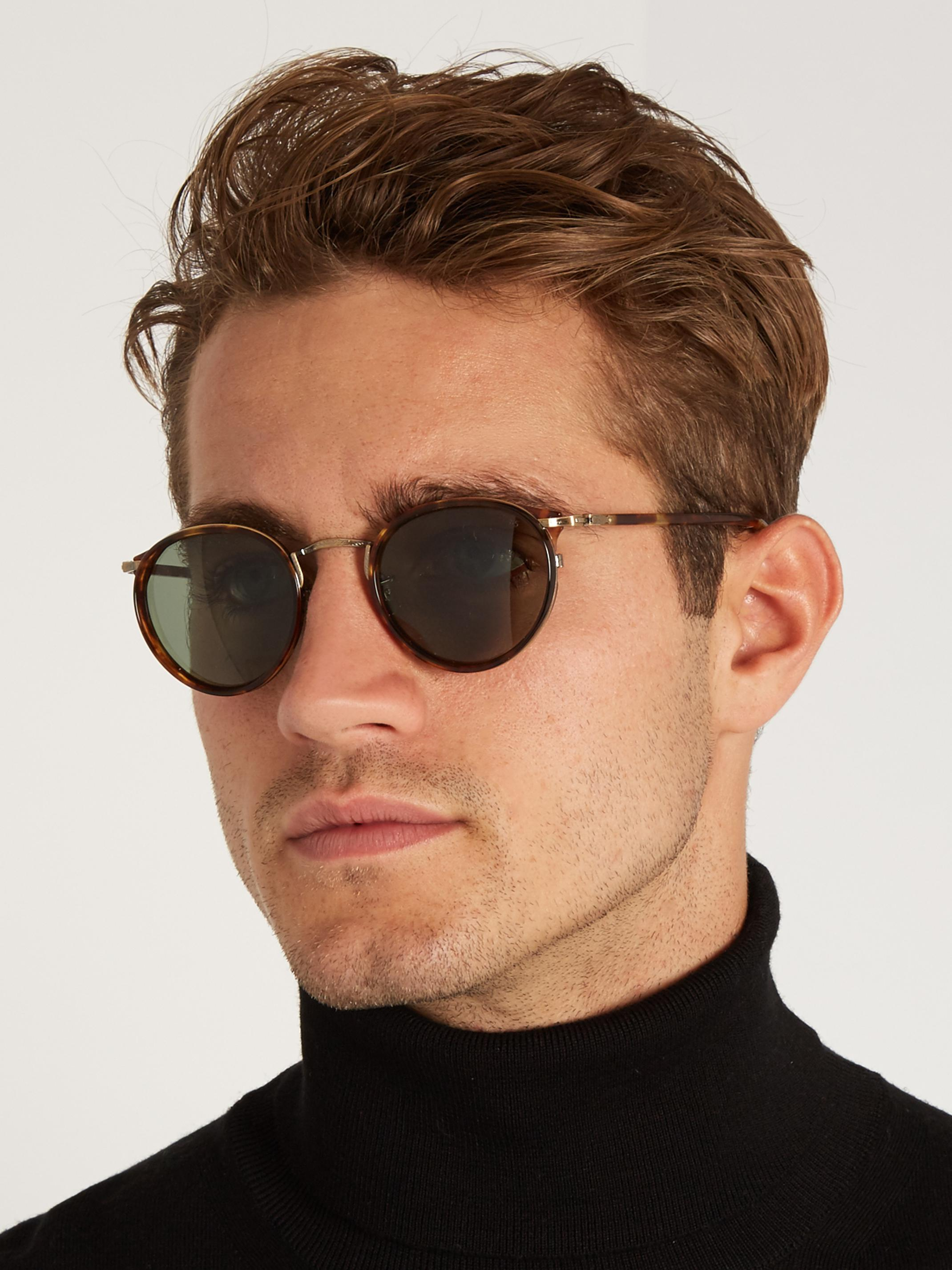 ac9062a53c Lyst - Cutler   Gross 1007 D-Frame Acetate Sunglasses in Brown for Men