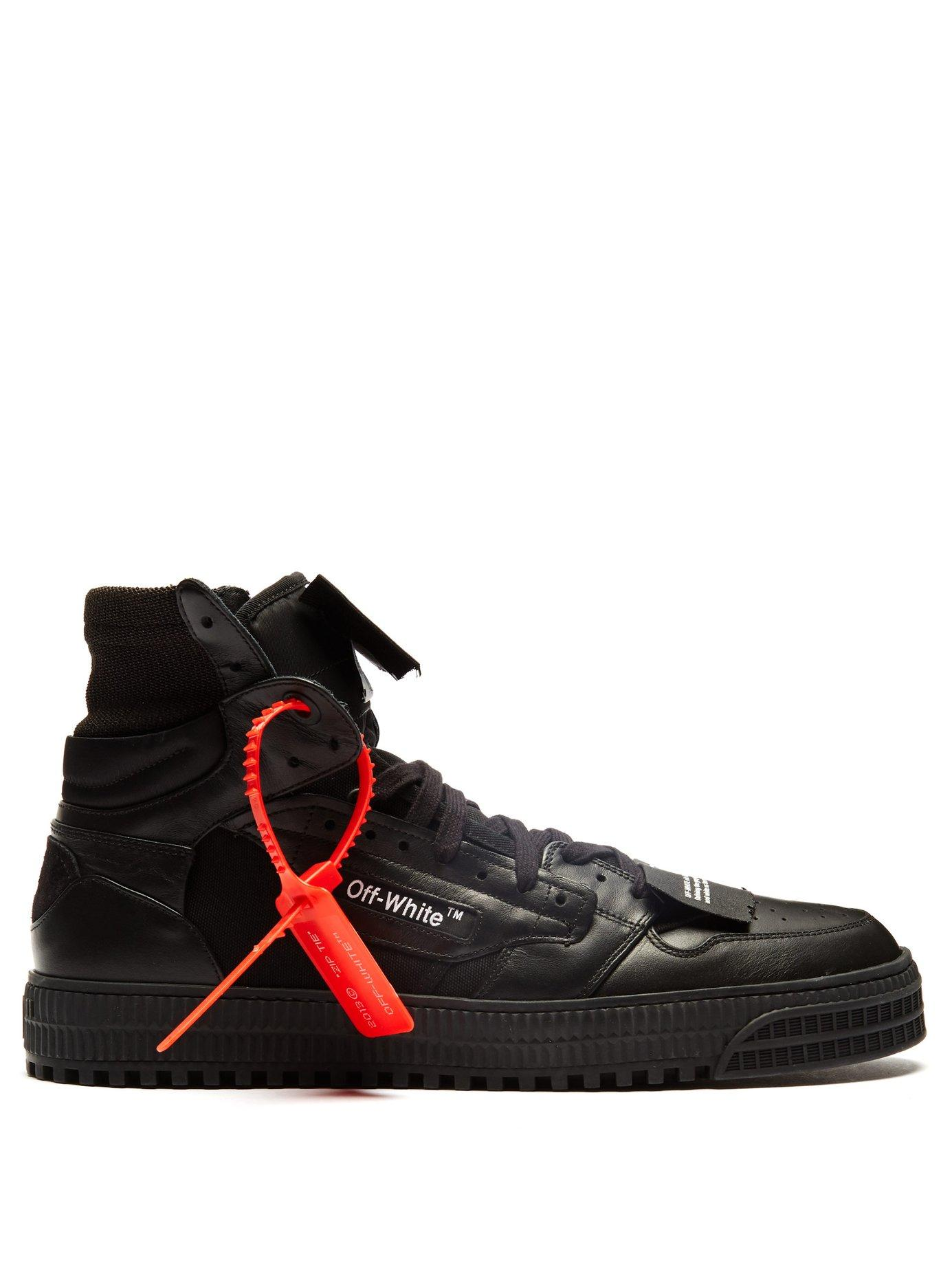 2d3279f2d748 Lyst - Off-White c o Virgil Abloh Off Court High Top Trainers in ...