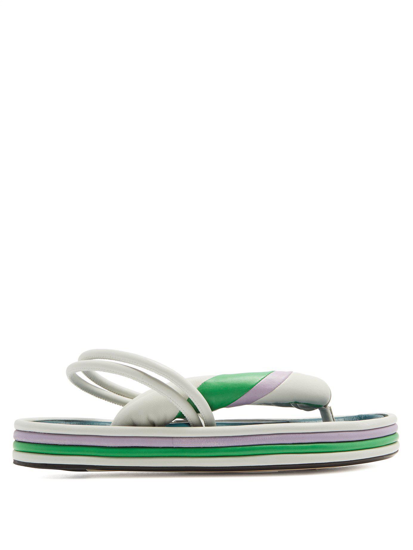 Sandales plateforme tricolores EtaneeIsabel Marant ea0GXSL