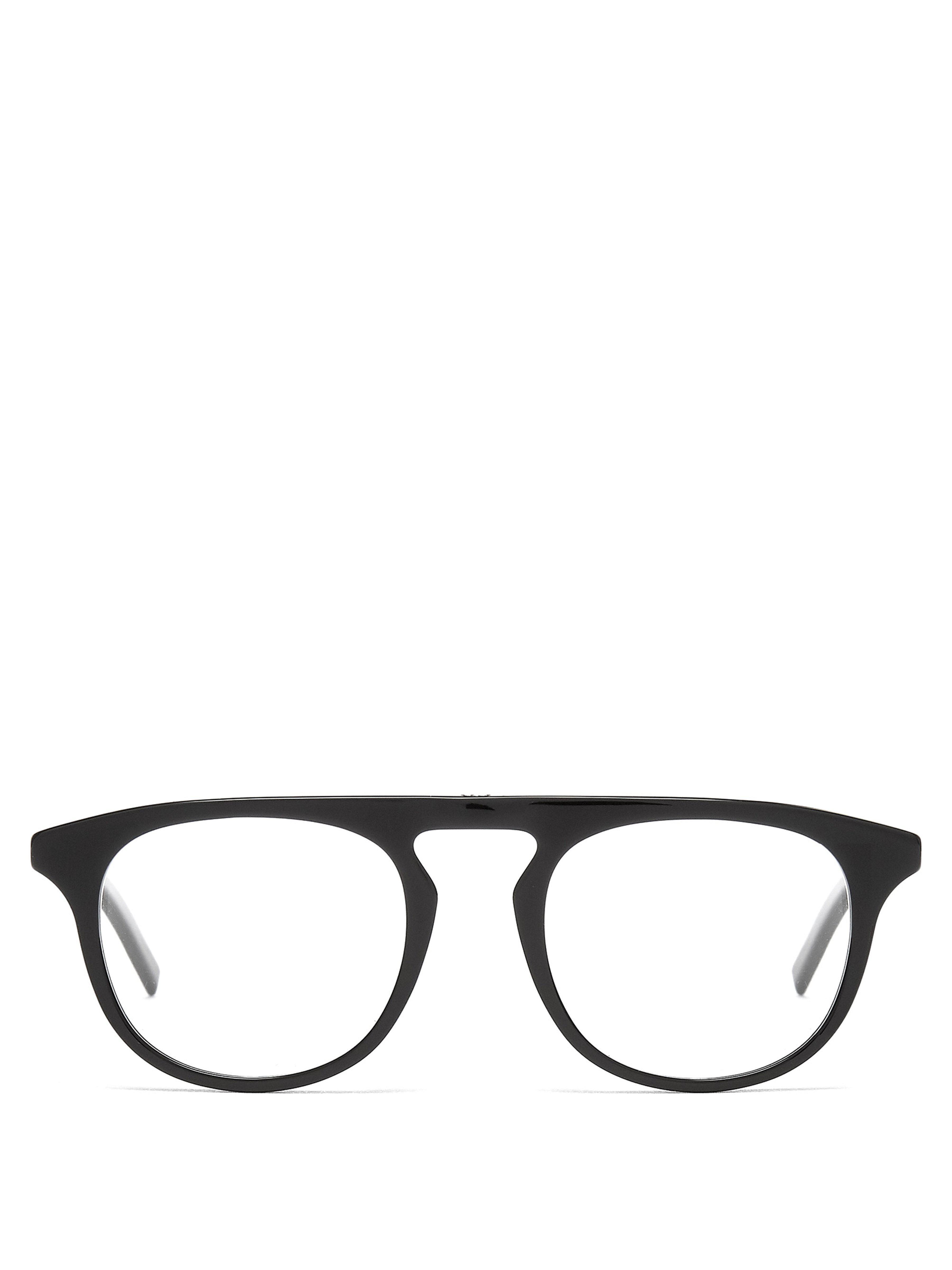 dior homme blacktie pantos frame glasses in black for men lyst  view fullscreen