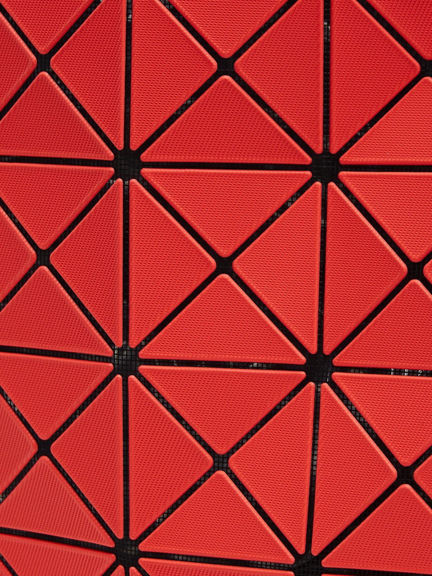da4b4227e7 Lyst - Bao Bao Issey Miyake Lucent Twill Tote in Red