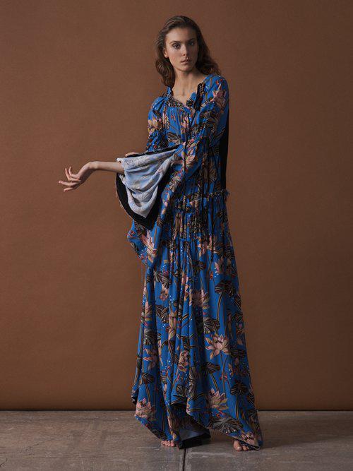 X Paulas Ibiza bird-print maxi dress Loewe t04o3M5