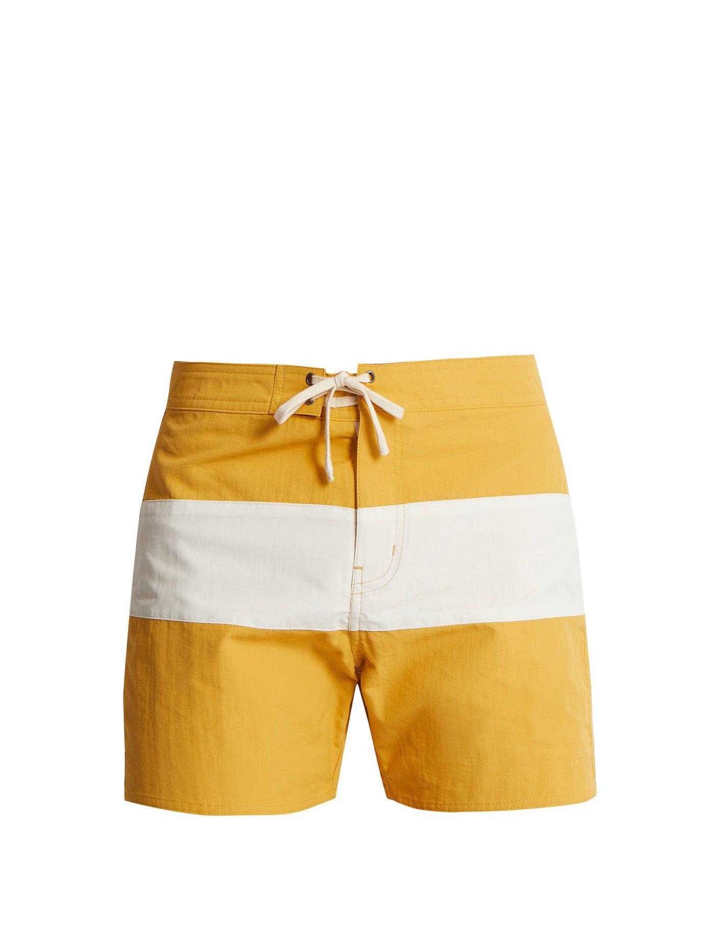 colour block swim shorts - Yellow & Orange Saturdays Surf NYC Free Shipping Shop For wZBh7d