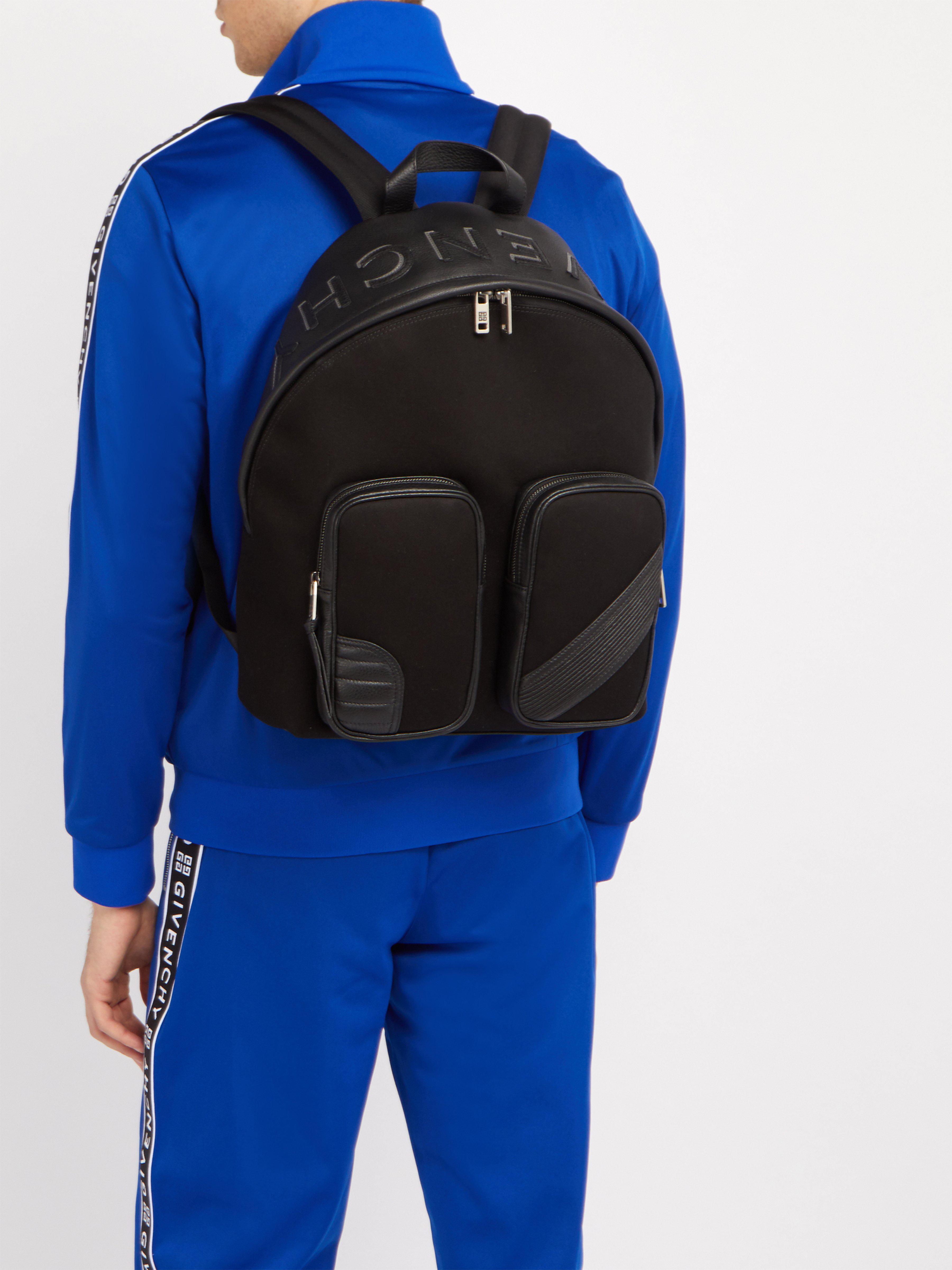 faa205f209 Sac à dos en toile et cuir MC3 Givenchy pour homme en coloris Noir - Lyst