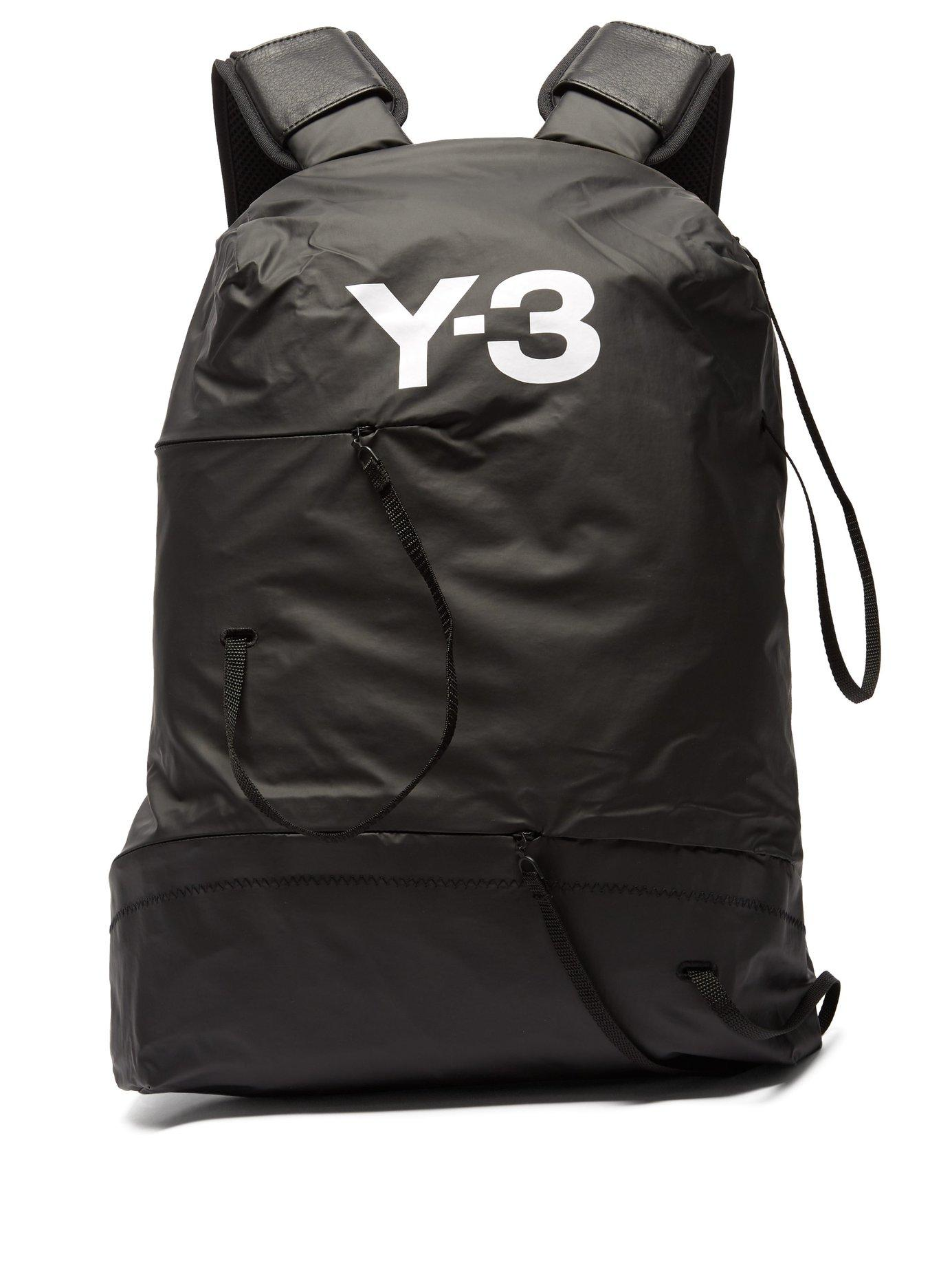 b6c4abb791f0 Lyst - Y-3 Bungee Technical Backpack in Black for Men