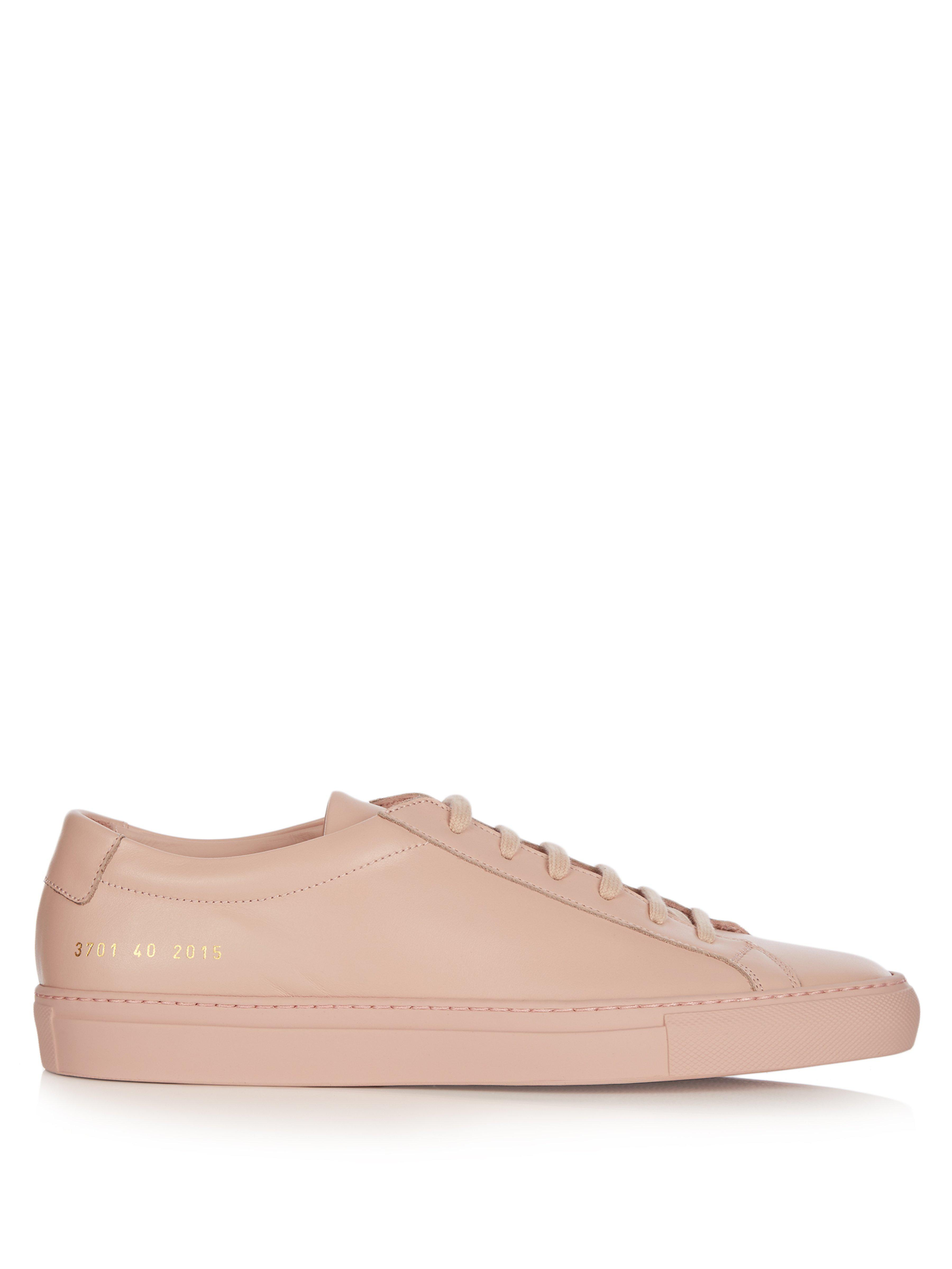 4d4bc23b673 Common Projects  original Achilles Low  Sneakers in Pink - Save 66 ...