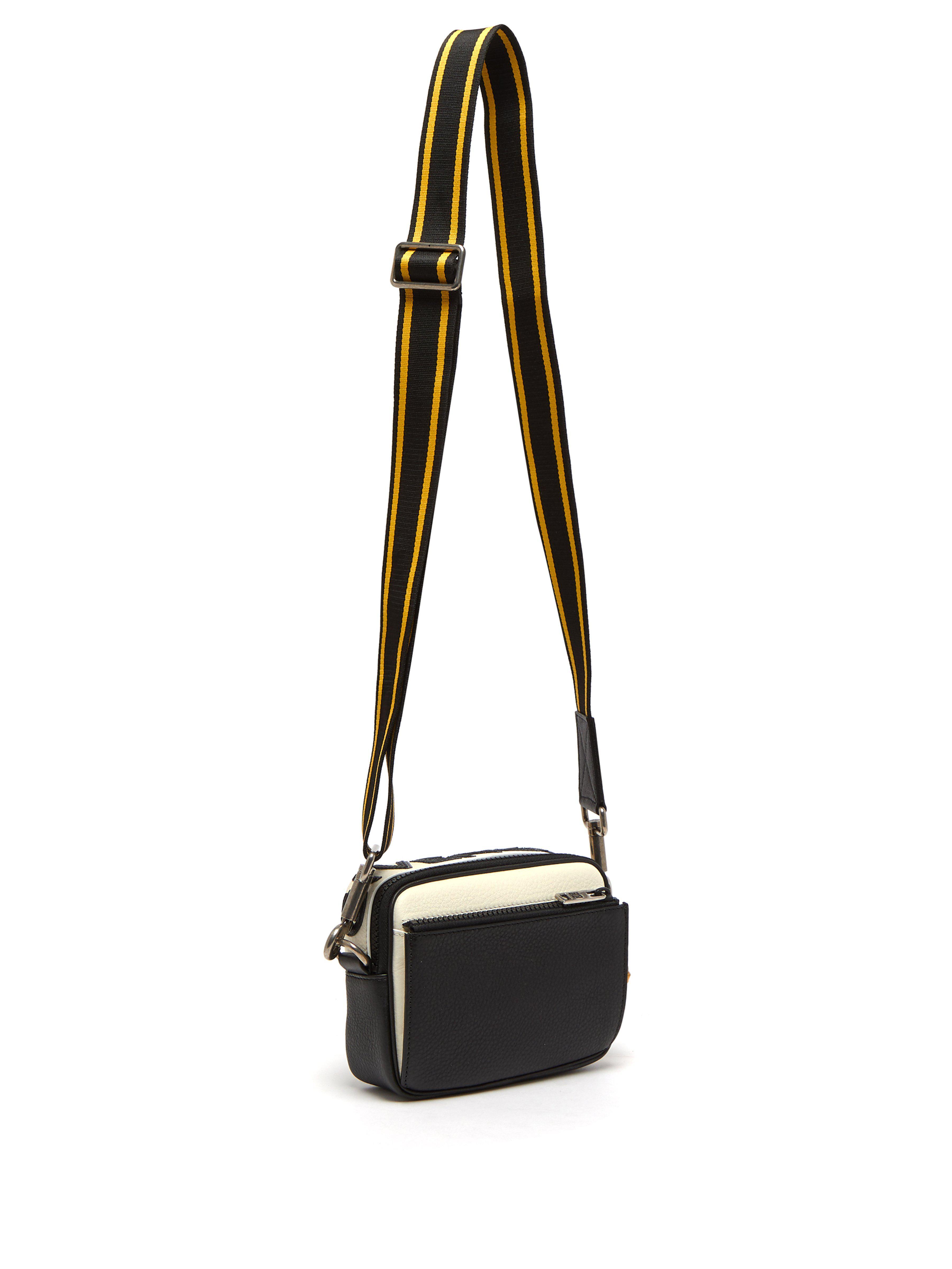 Givenchy - Black Mc3 Leather Cross Body Bag for Men - Lyst. View fullscreen f4a4fe5704