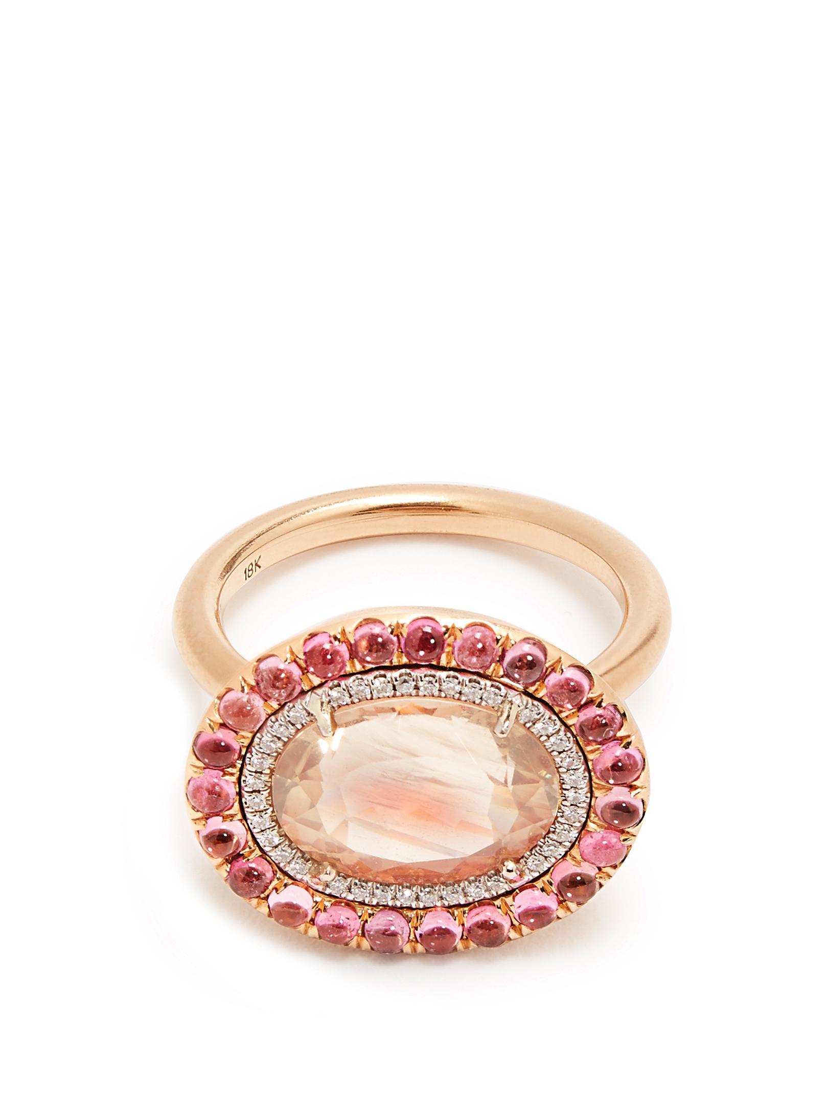 18kt gold and tourmaline ring Irene Neuwirth GGrl463R