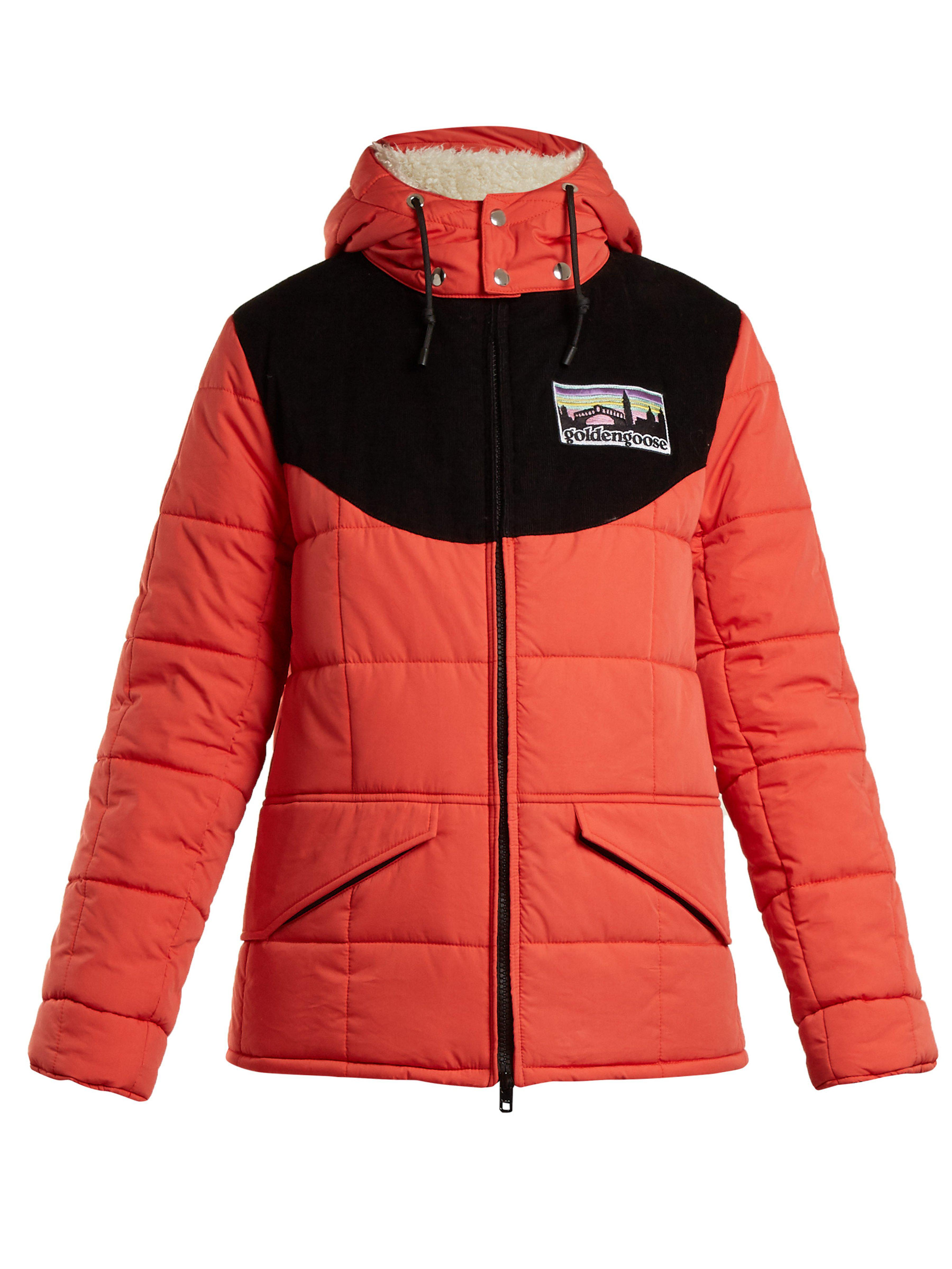 a67662bec479 Golden Goose Deluxe Brand Agena Quilted Jacket in Red - Lyst