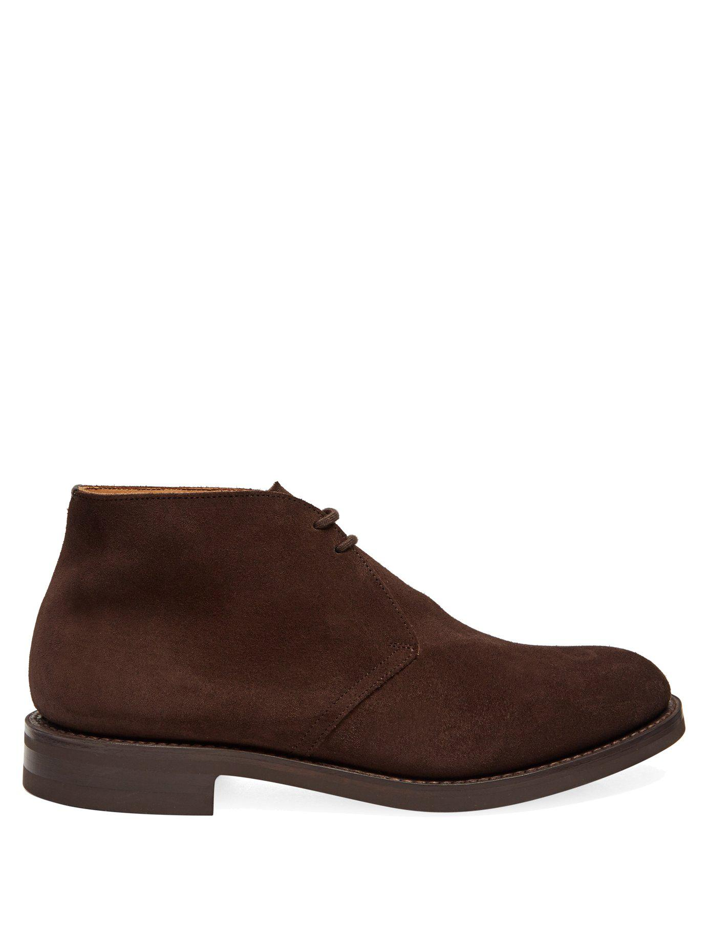 Brown 3 in Ryder Men Chukka for Boots Church'S Suede Lyst pZHCwnSq0x