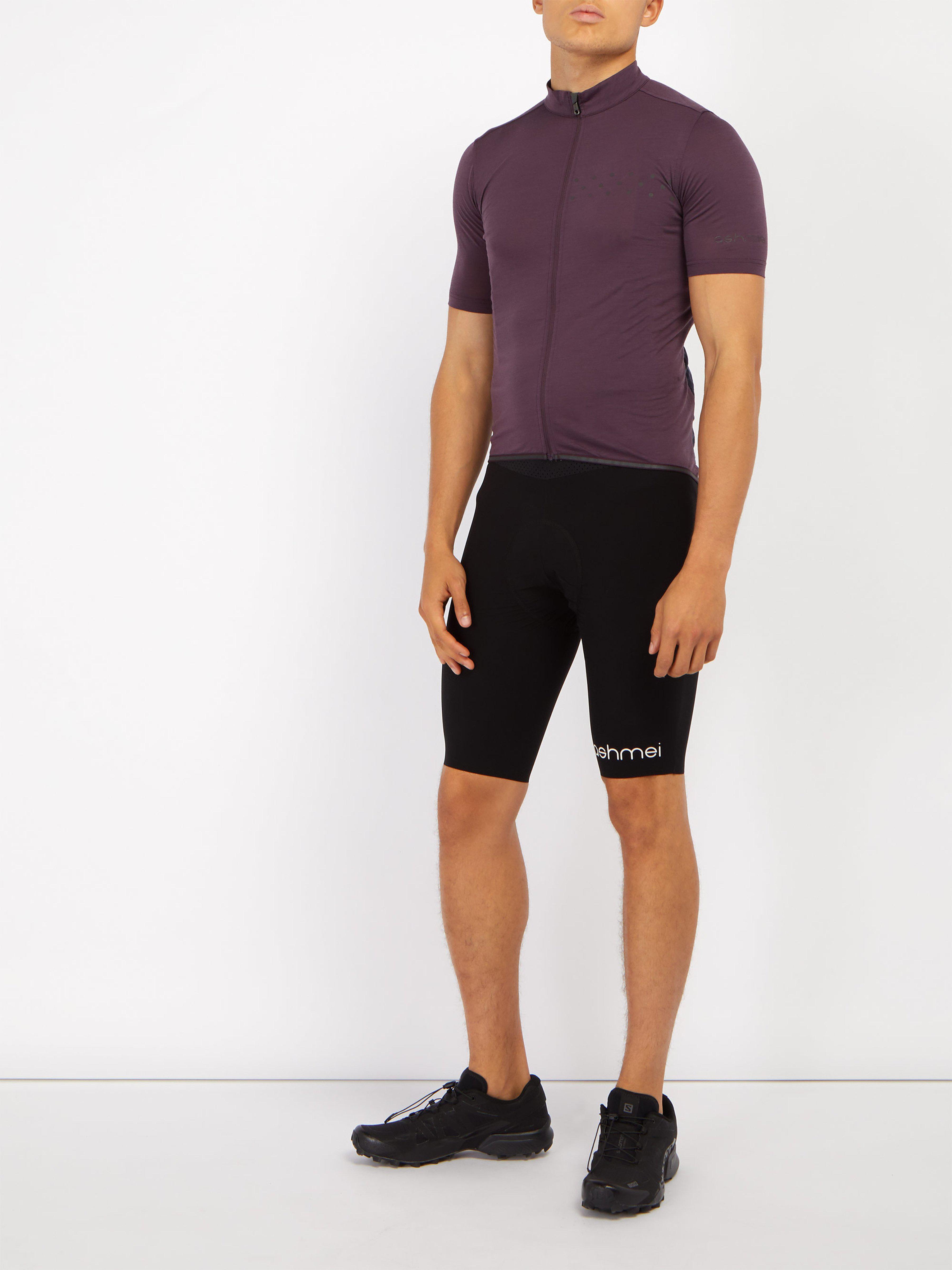 Ashmei - Purple Kom Merino Wool Blend Cycling Jersey for Men - Lyst. View  fullscreen c0fb61ff2
