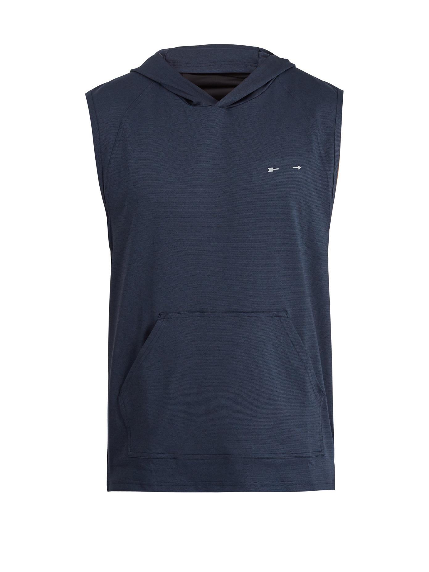 PS Trainer sleeveless hooded sweatshirt The Upside Pick A Best Cheap Online JWWkSAQr