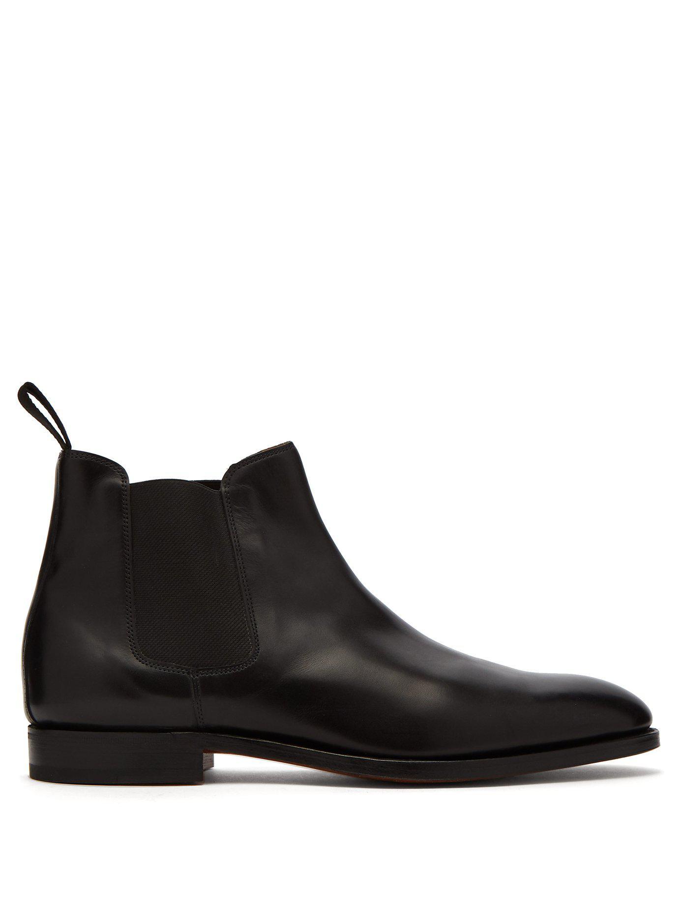 watch 84a0a b0b95 john-lobb-black-Lawry-Leather-Chelsea-Boots.jpeg