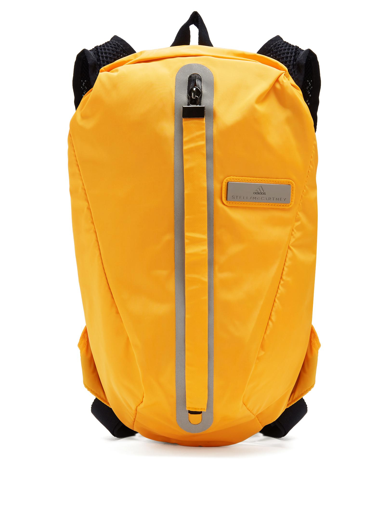 681cee84db adidas By Stella McCartney Adizero Running Backpack in Orange - Lyst