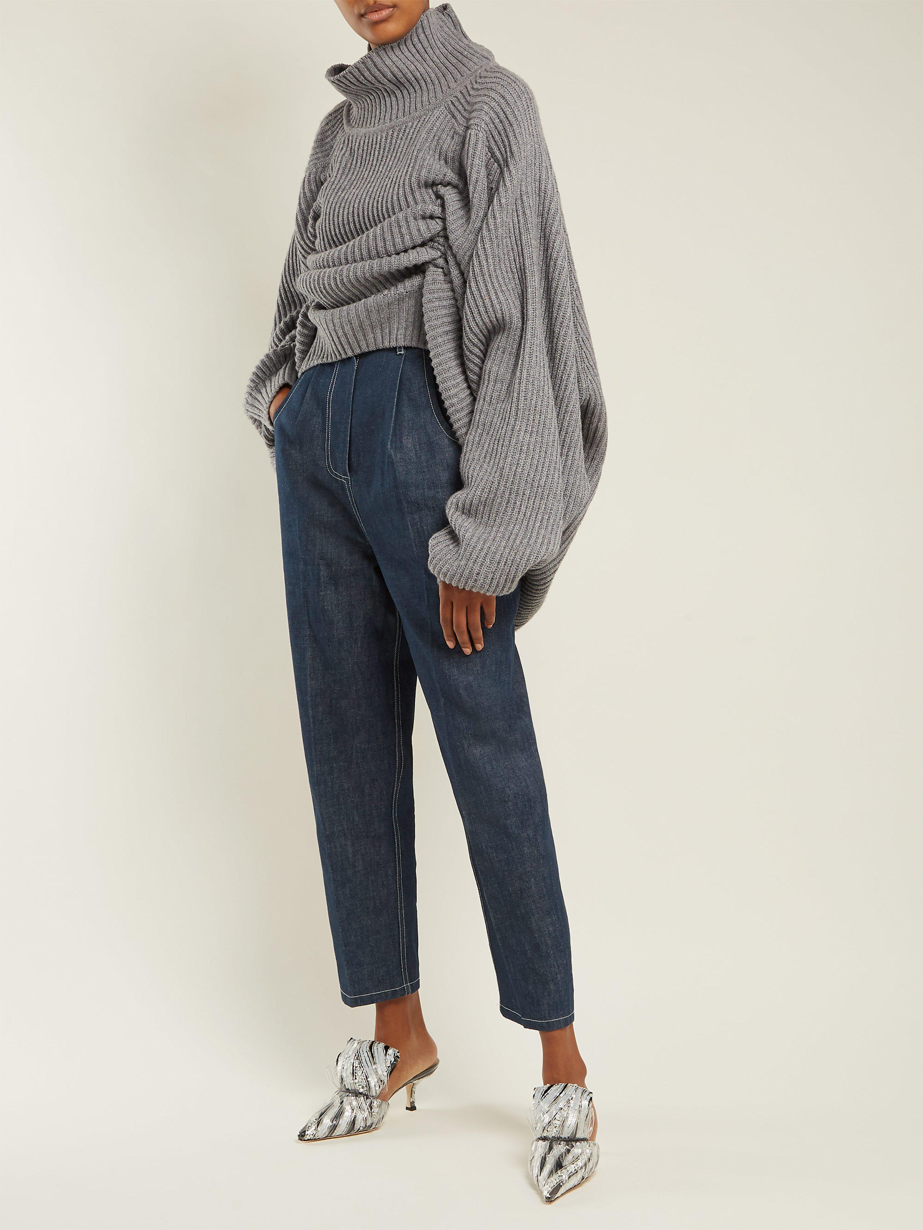 a307752c8 Hillier Bartley High Rise Tapered Jeans in Blue - Lyst