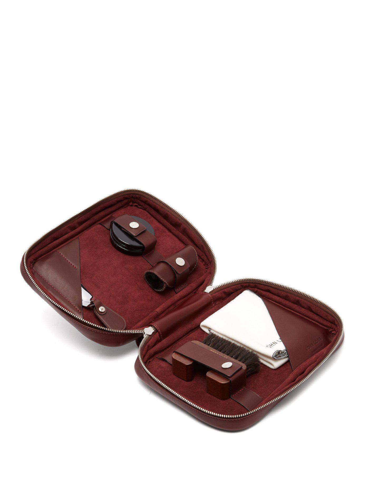 62f2580e44 Frye Hobo Bags Purses Nordstrom. John Lobb Women S Shoe Care Leather. Lyst  John Lobb Shoe Care Leather Travel Case