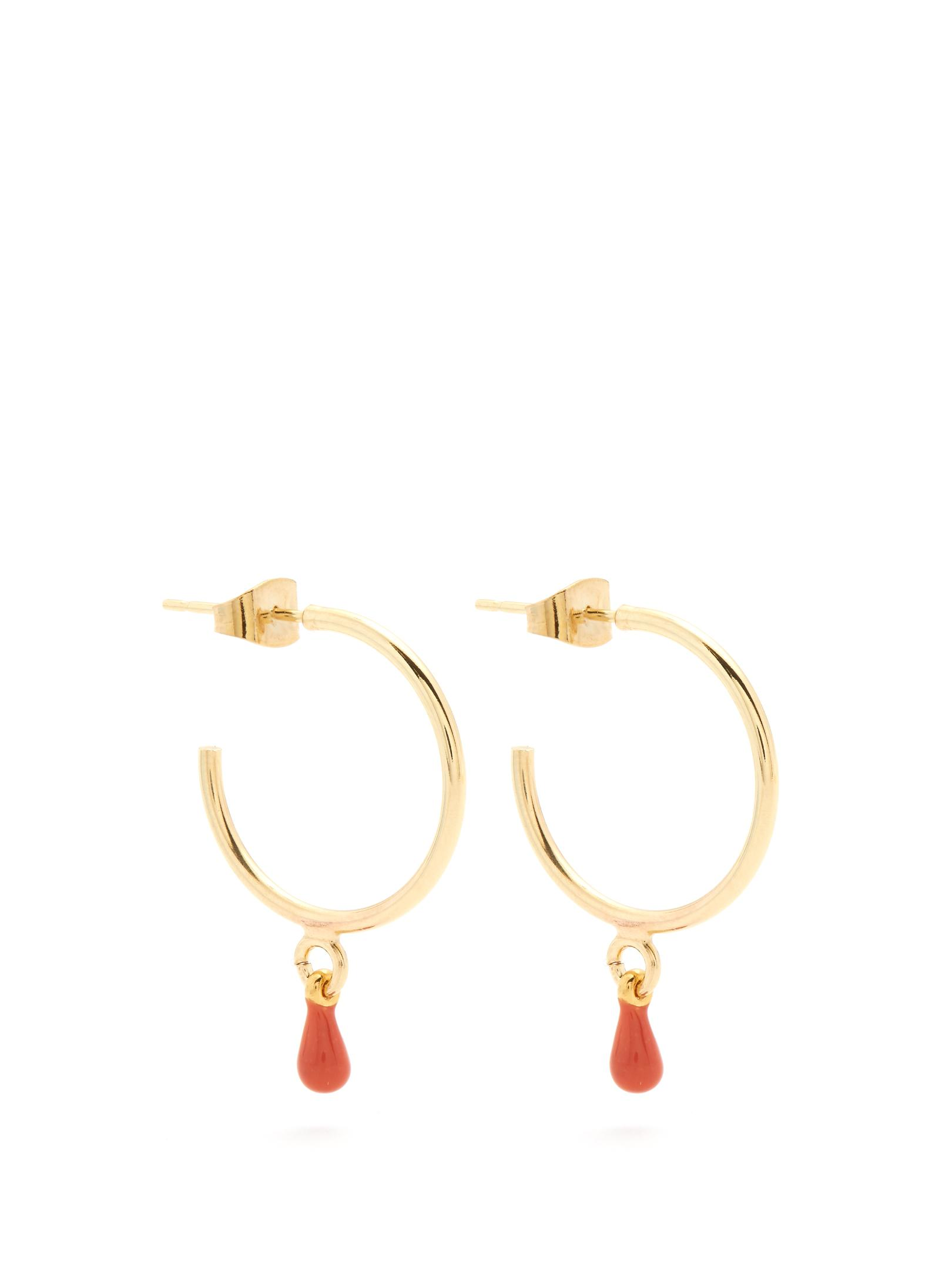 Multicolor Contrast Drop Earrings Isabel Marant zmaleqnLw