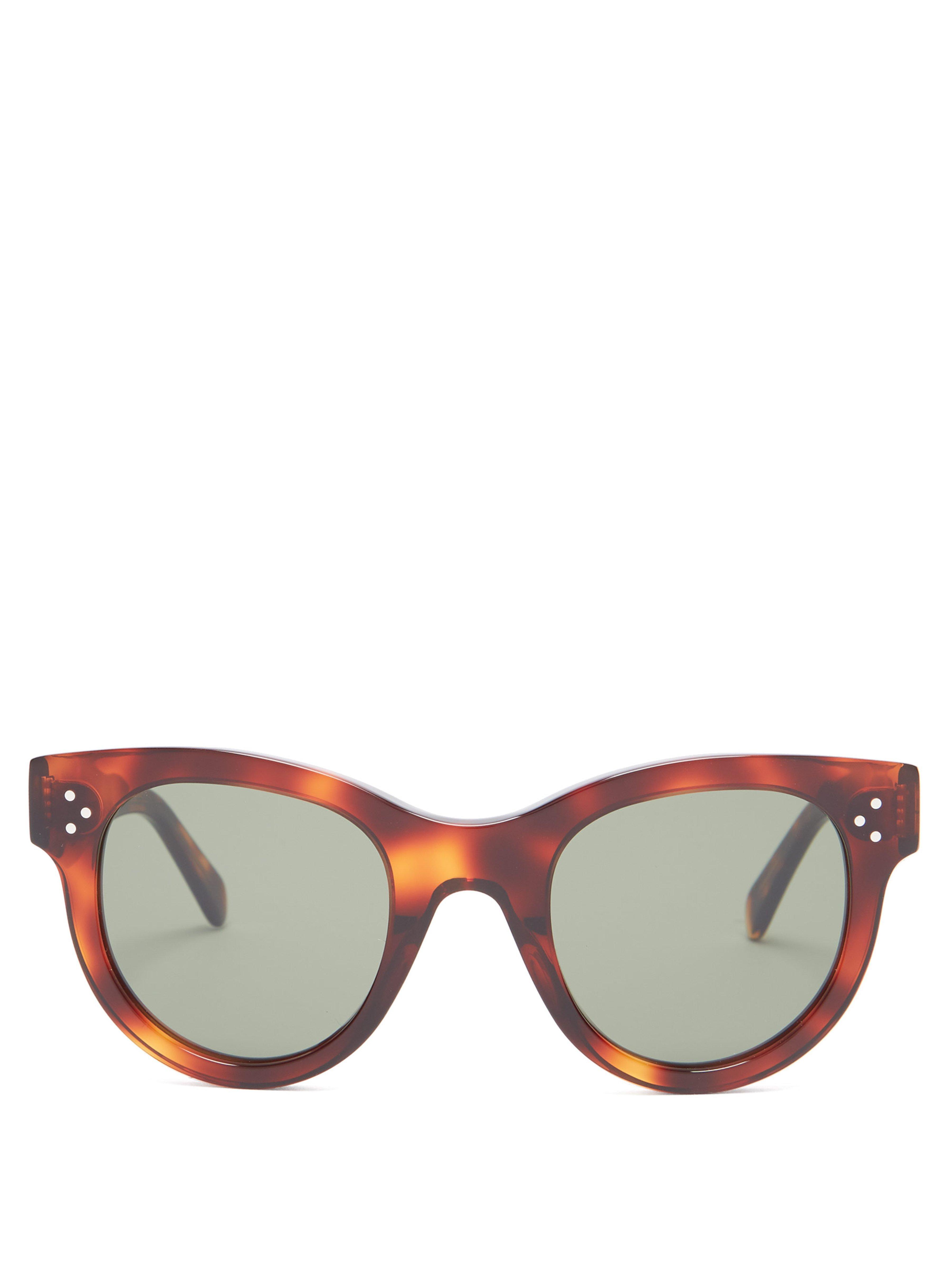 00d0d76ce Céline. Women's Baby Audrey Cat Eye Acetate Sunglasses