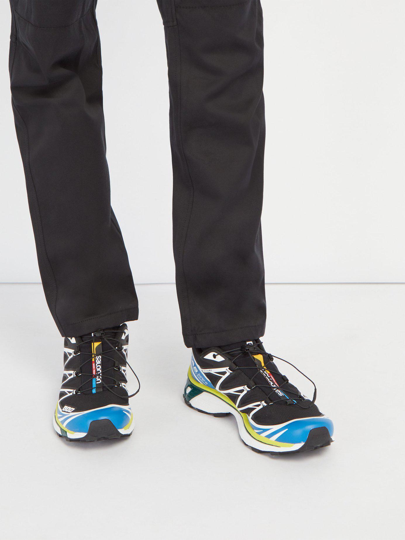 buy popular 83daa 093ad Yves Salomon S lab Xt 6 Softground Adv Trainers in Black for Men - Lyst