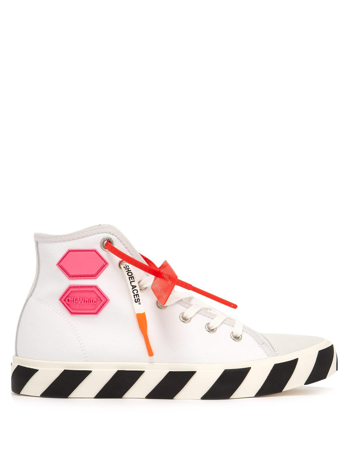 c9bef02e728d91 Lyst - Off-White c o Virgil Abloh Vulc High Top Trainers for Men