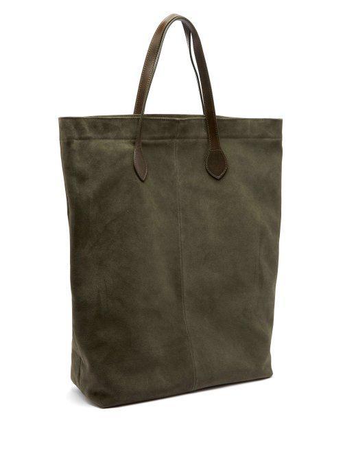 Amazon De Sortie Officine Générale Rectangular Suede Tote Bag faux Style De Mode En Ligne selq94