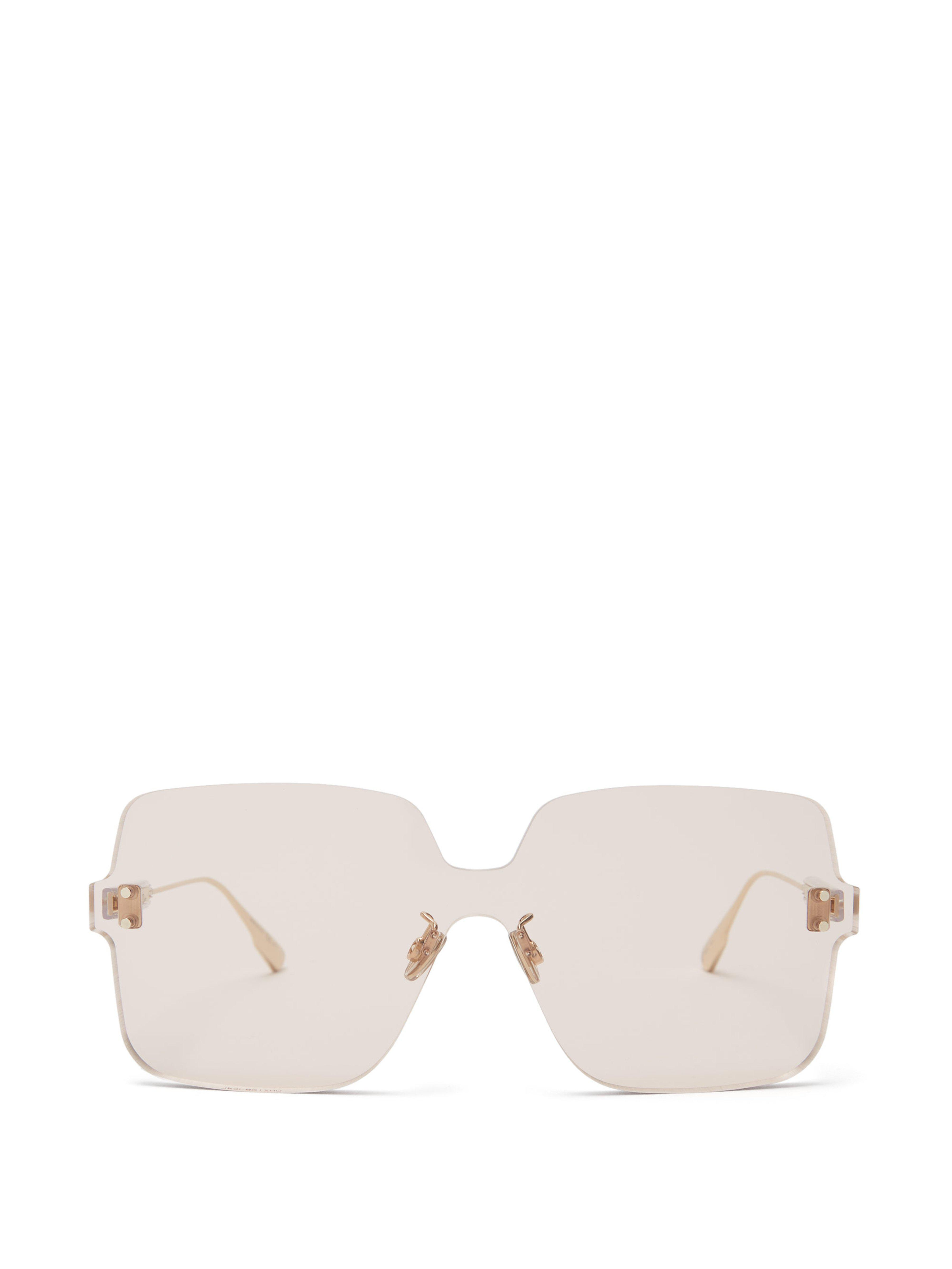 2ed095deead Dior Colourquake1 Sunglasses in Brown - Lyst