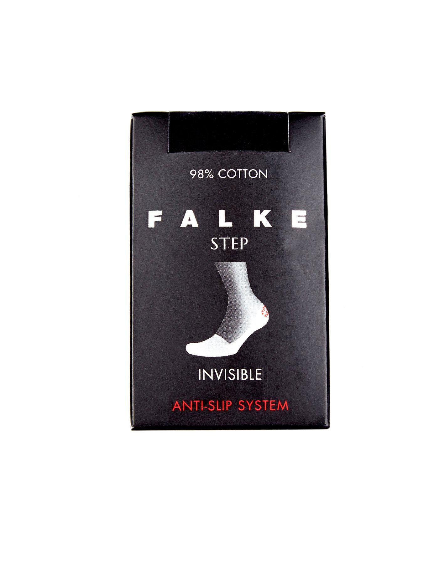 b5296eae3 Lyst - Falke Step Cotton Blend Liner Socks in Black for Men