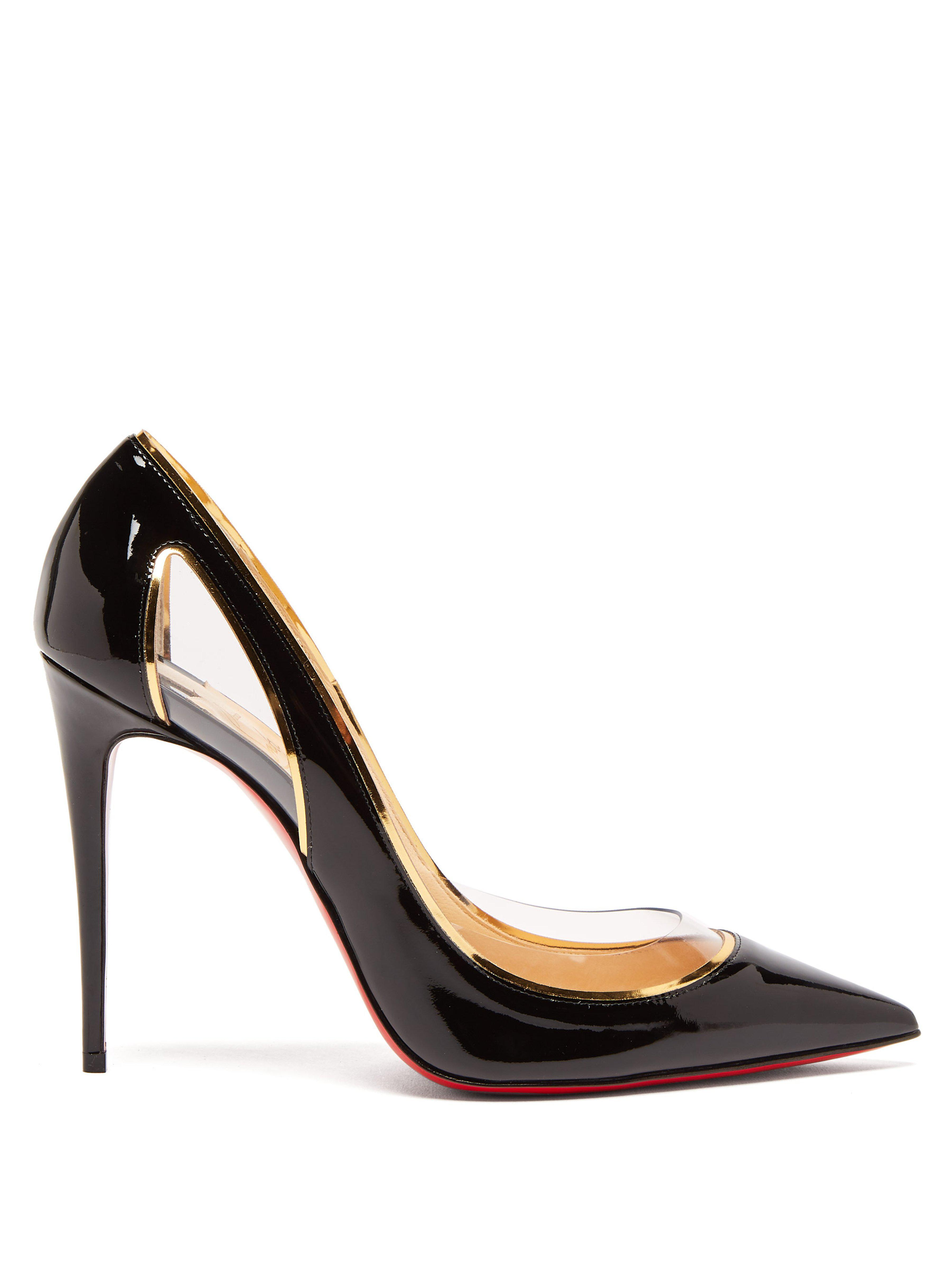 579e7b42c35 Christian Louboutin. Women s Black Cosmo 554 100 Patent Leather Court Shoes