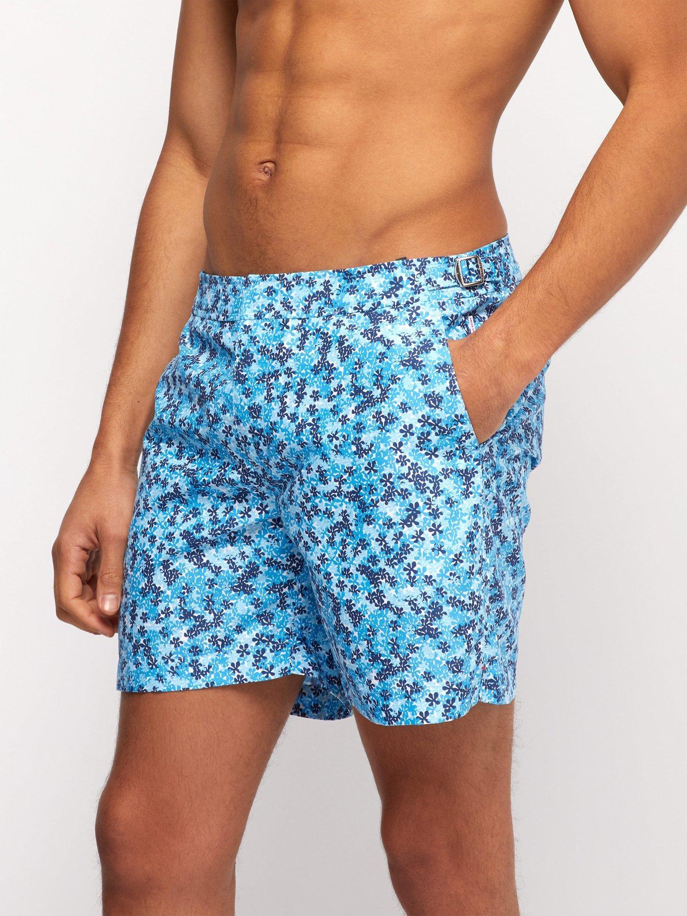 d50b422126827 Lyst - Orlebar Brown Bulldog Ninfea Print Swim Shorts in Blue for Men