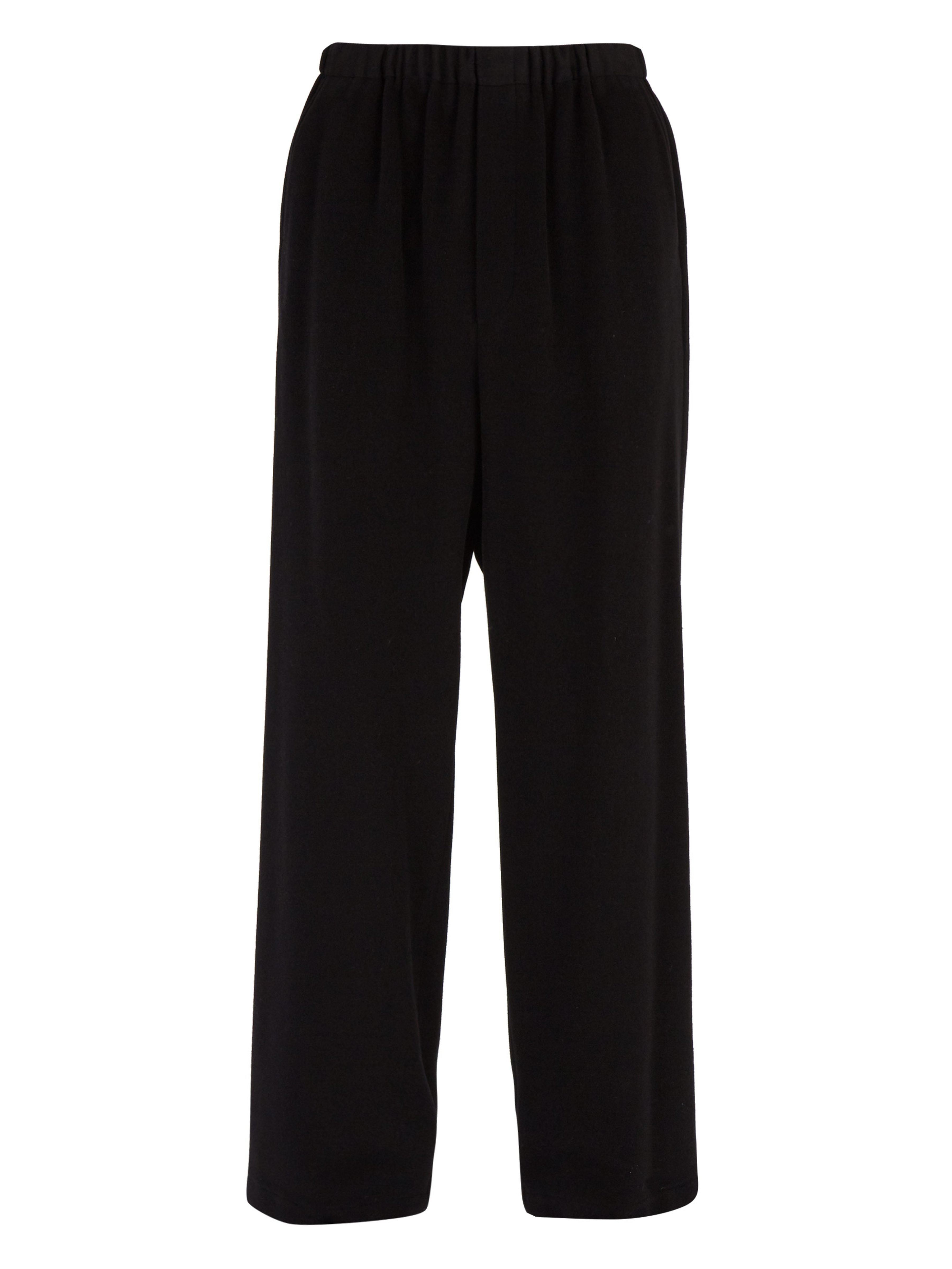 95b4fc379e1868 Balenciaga Wool Blend Fleece Track Pants in Black for Men - Lyst