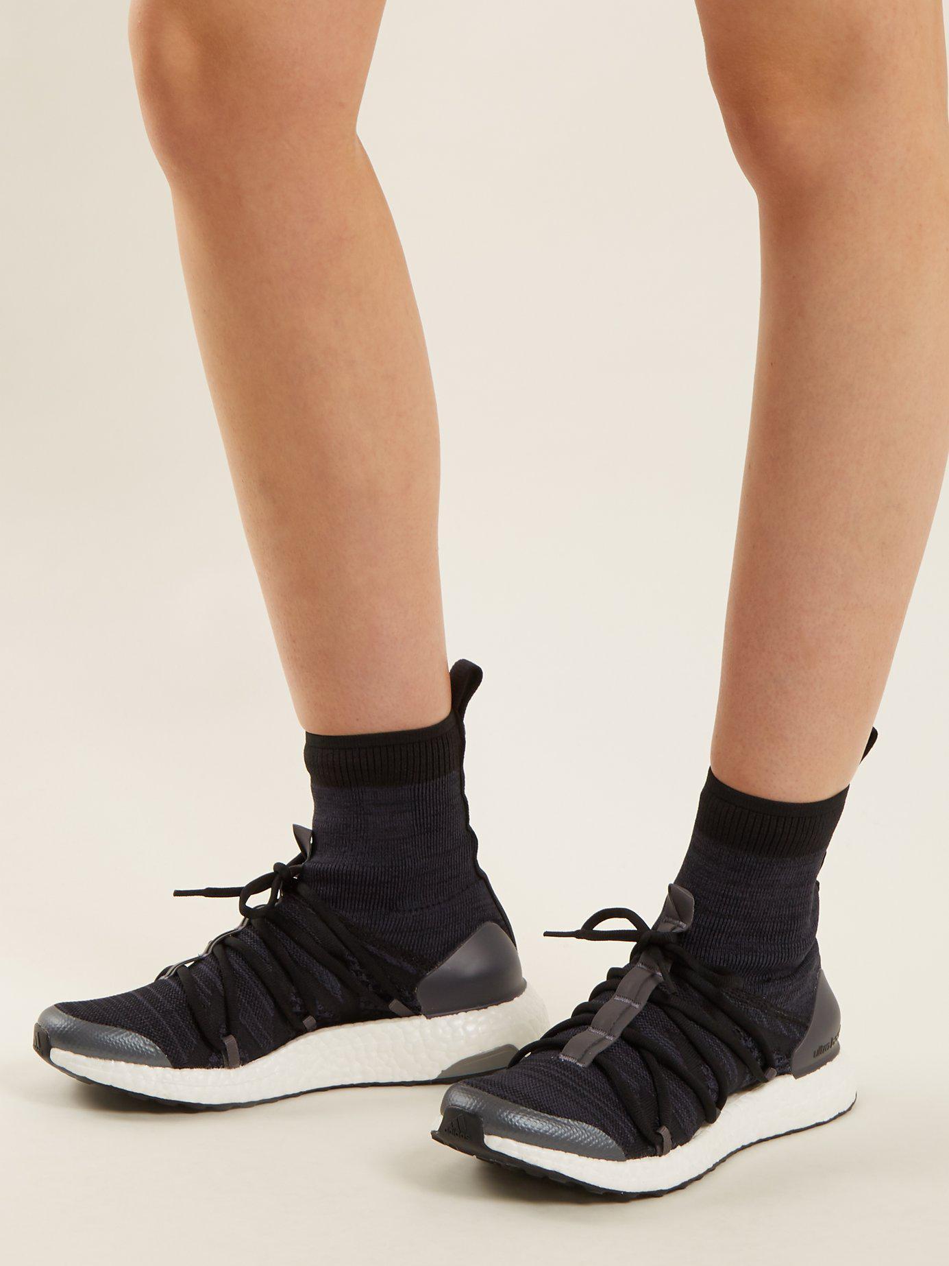 best website d28cc 2e87c adidas By Stella McCartney Ultra Boost X High-top Sock Trainers in ...