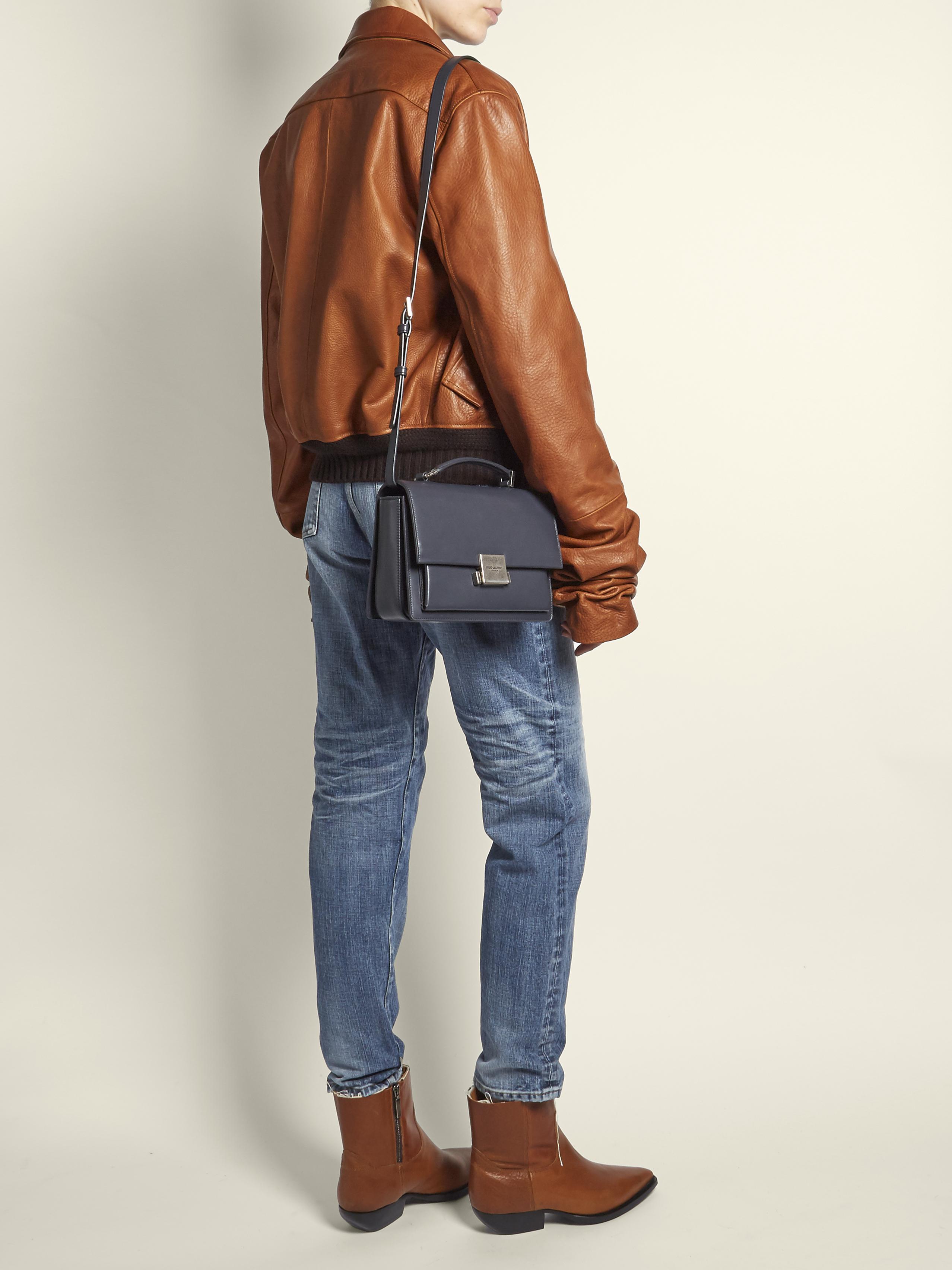 medium Bellechasse shoulder bag - Grey Saint Laurent gmmk510hkB