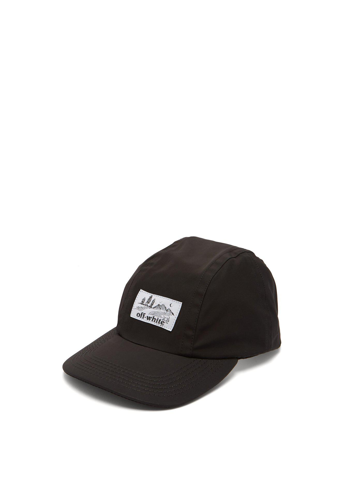 ea6b5e6ff7c Lyst - Off-White c o Virgil Abloh Logo Baseball Cap in Black for Men