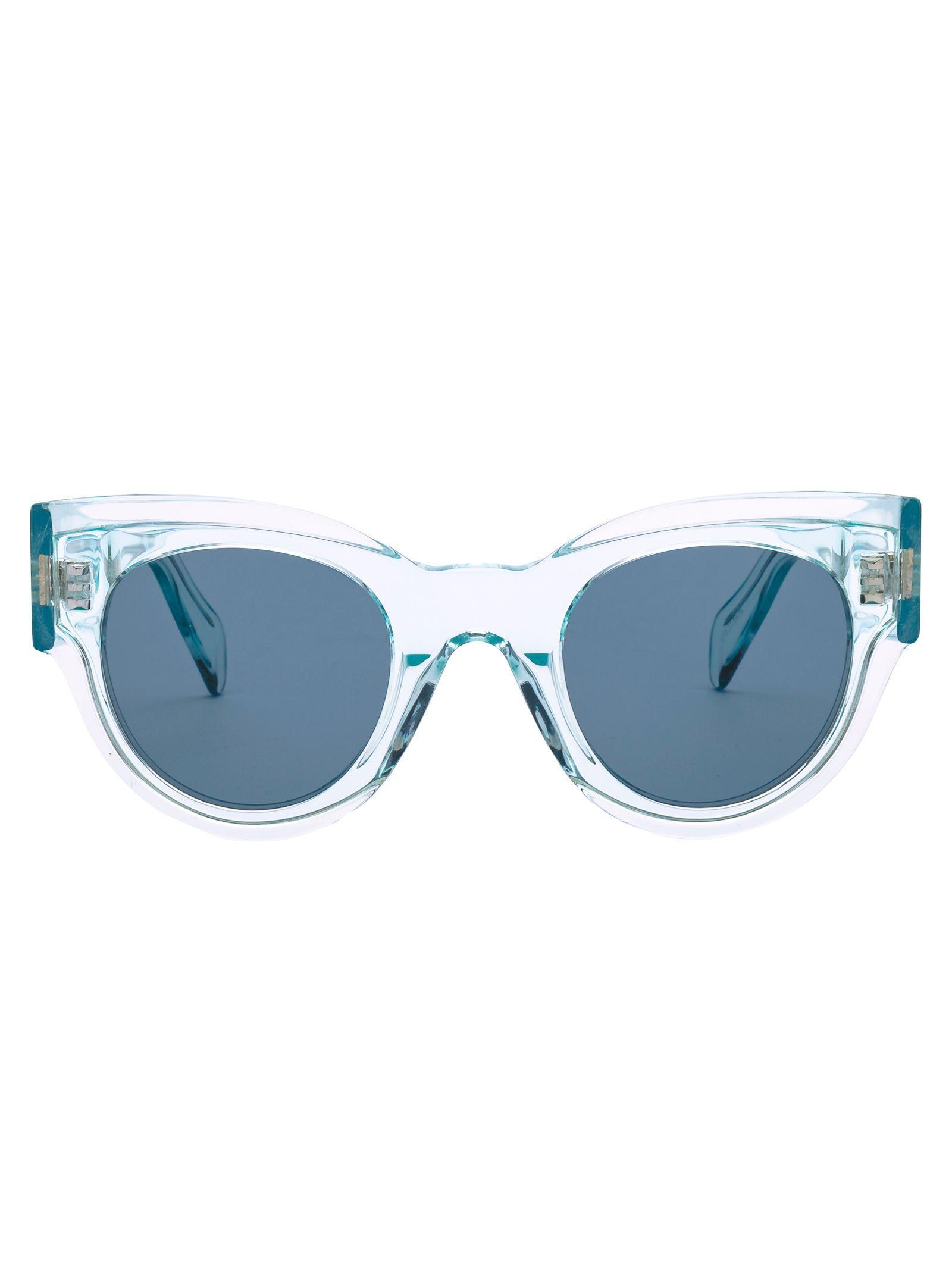 a2b68a9207 Lyst - Céline White Acetate Sunglasses in White