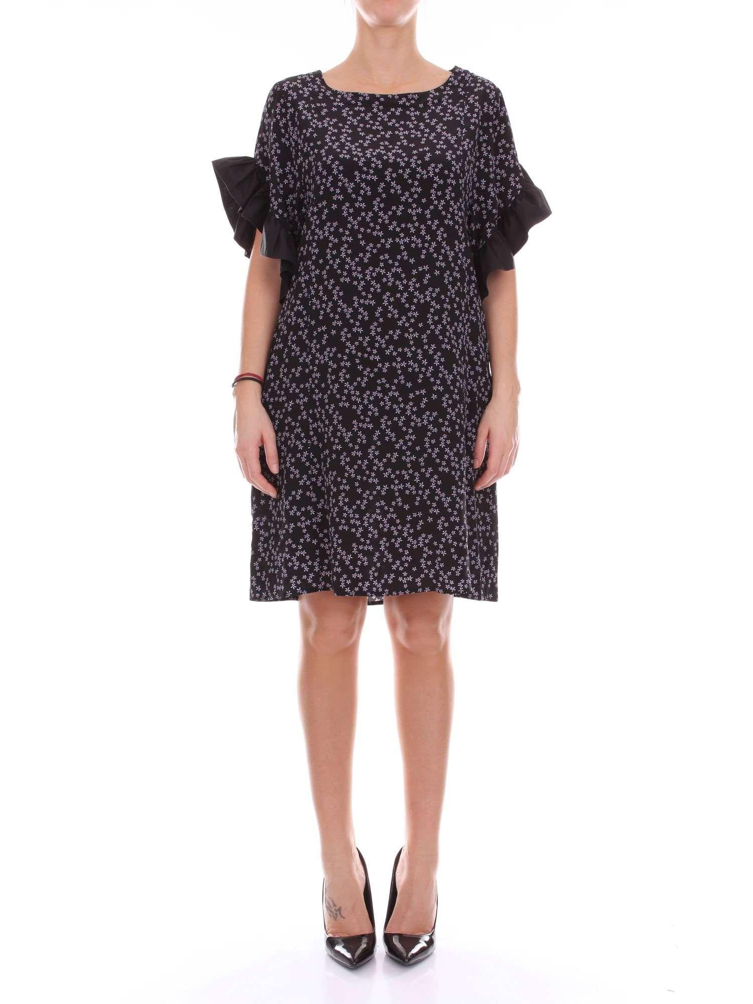 classic buy detailed pictures Attic And Barn Black Silk Dress in Black - Lyst