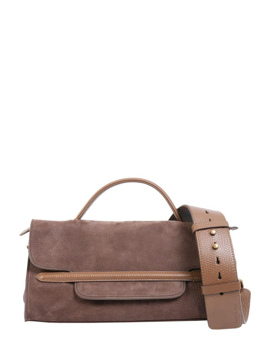 88efdb3cd53 Lyst - Zanellato Brown Leather Handbag in Brown