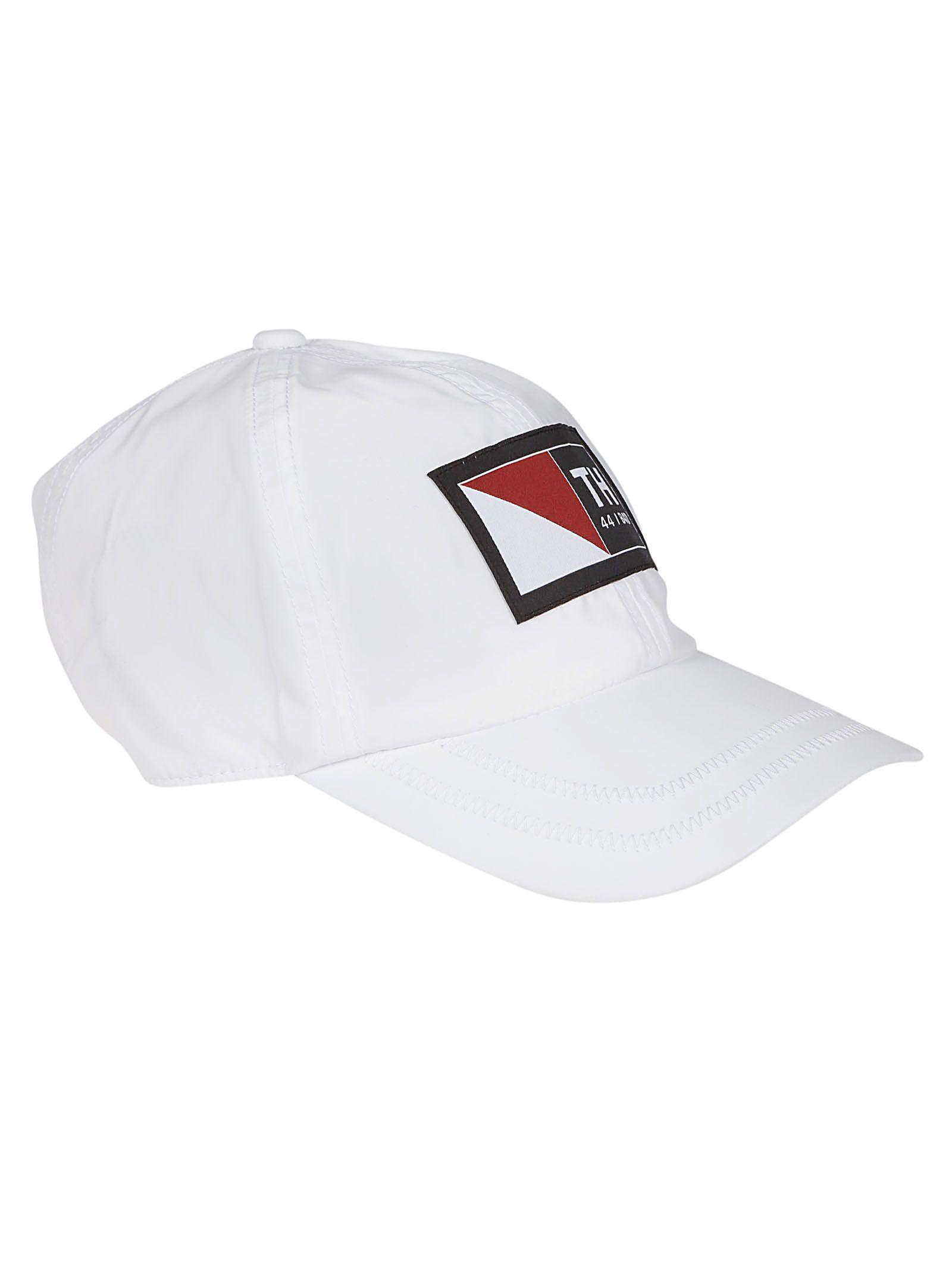1e252fae945 Lyst - Tommy Hilfiger White Polyamide Hat in White for Men