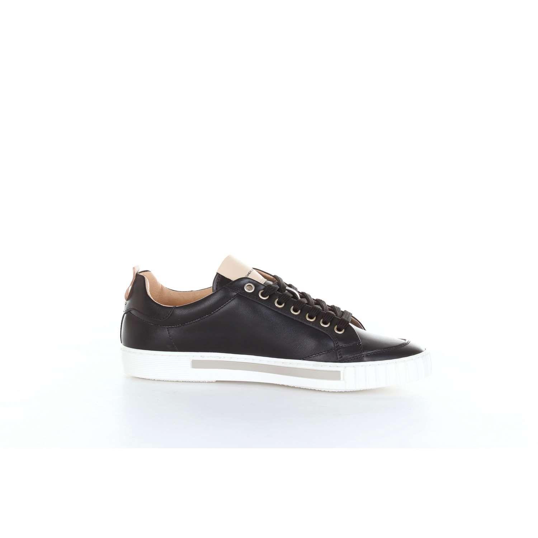 Alessandro Dellacqua Leather High-top Sneakers in Black