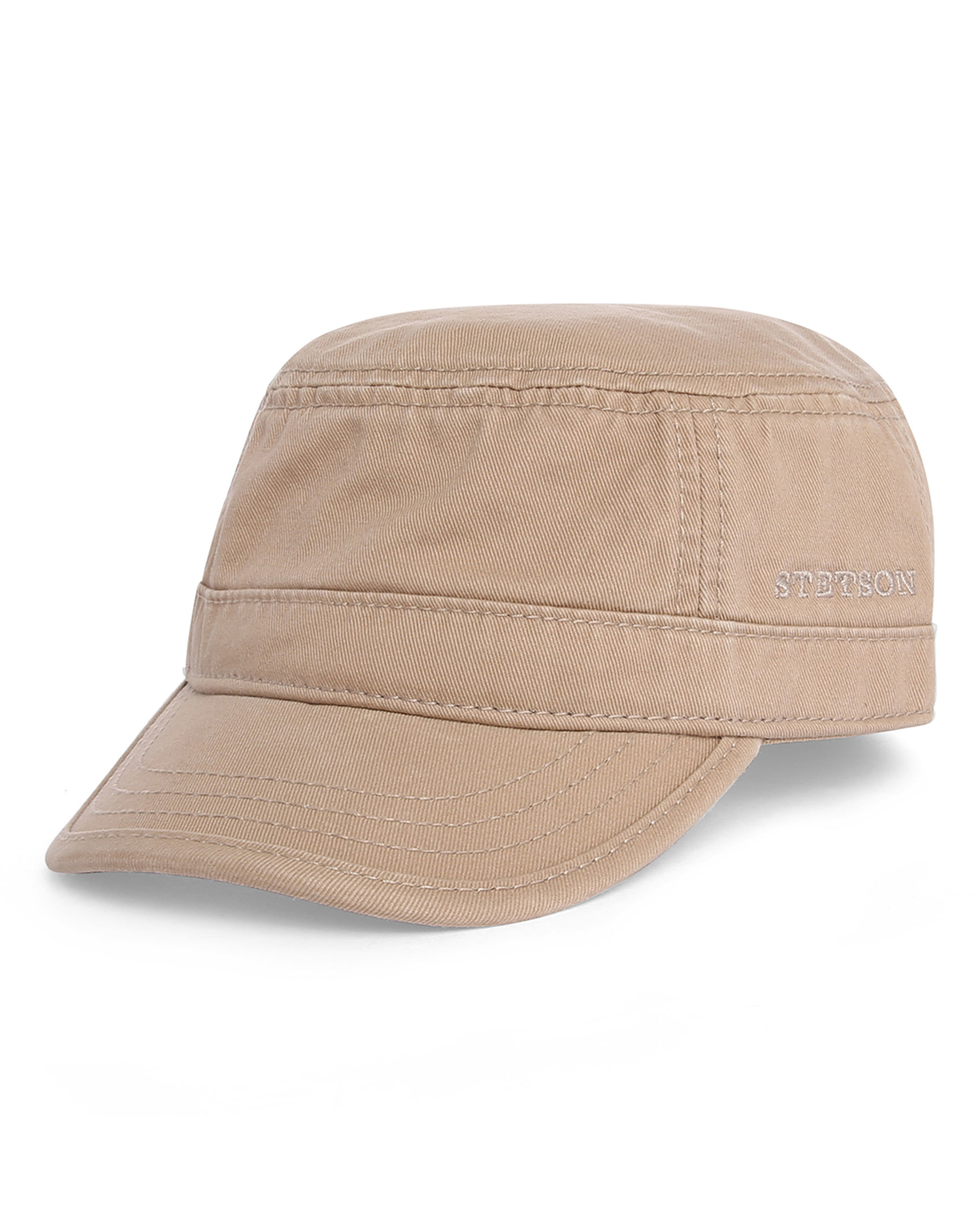 Stetson Brown Hatteras Donegal Flat Cap In Brown For Men