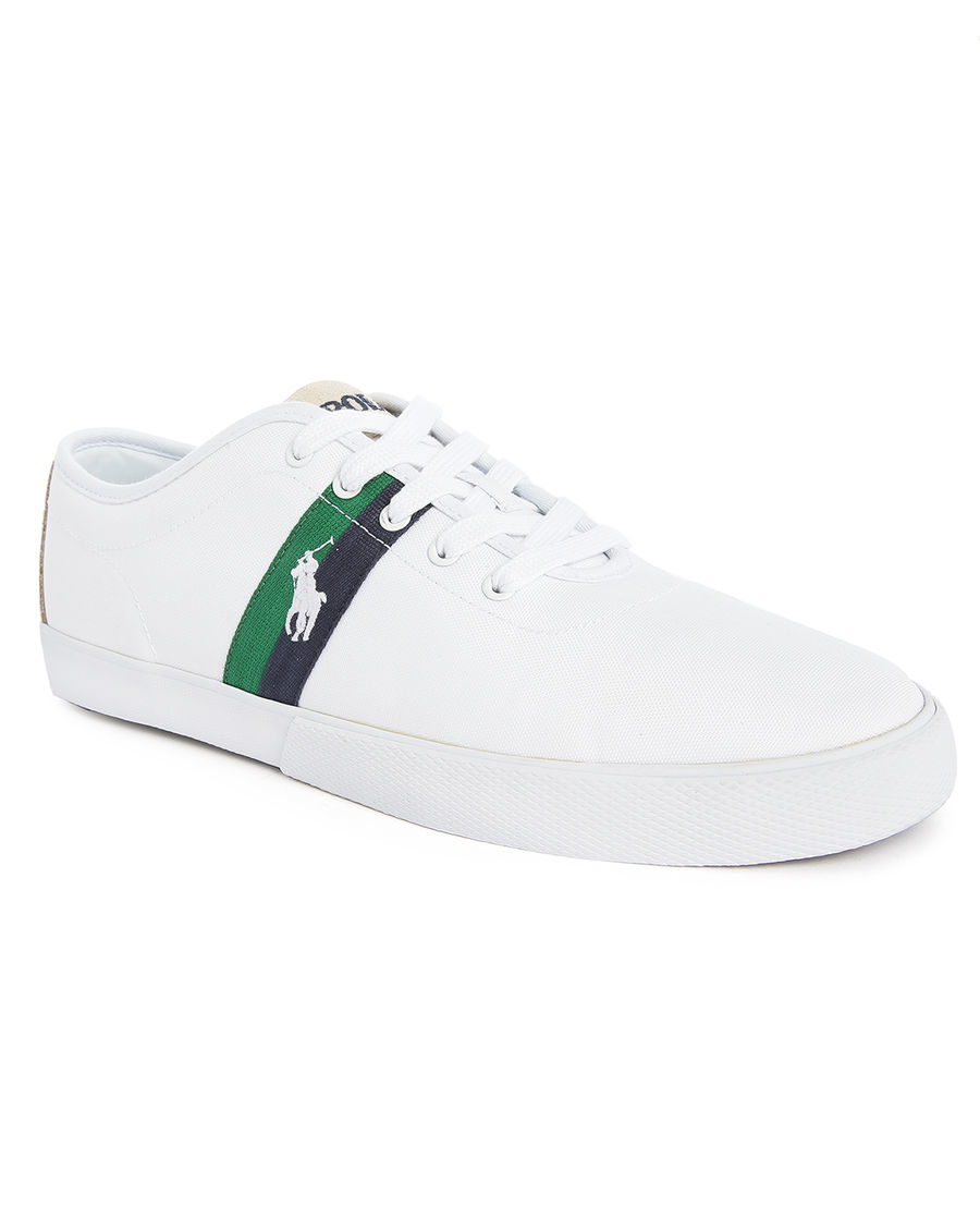how to clean white polo shoes