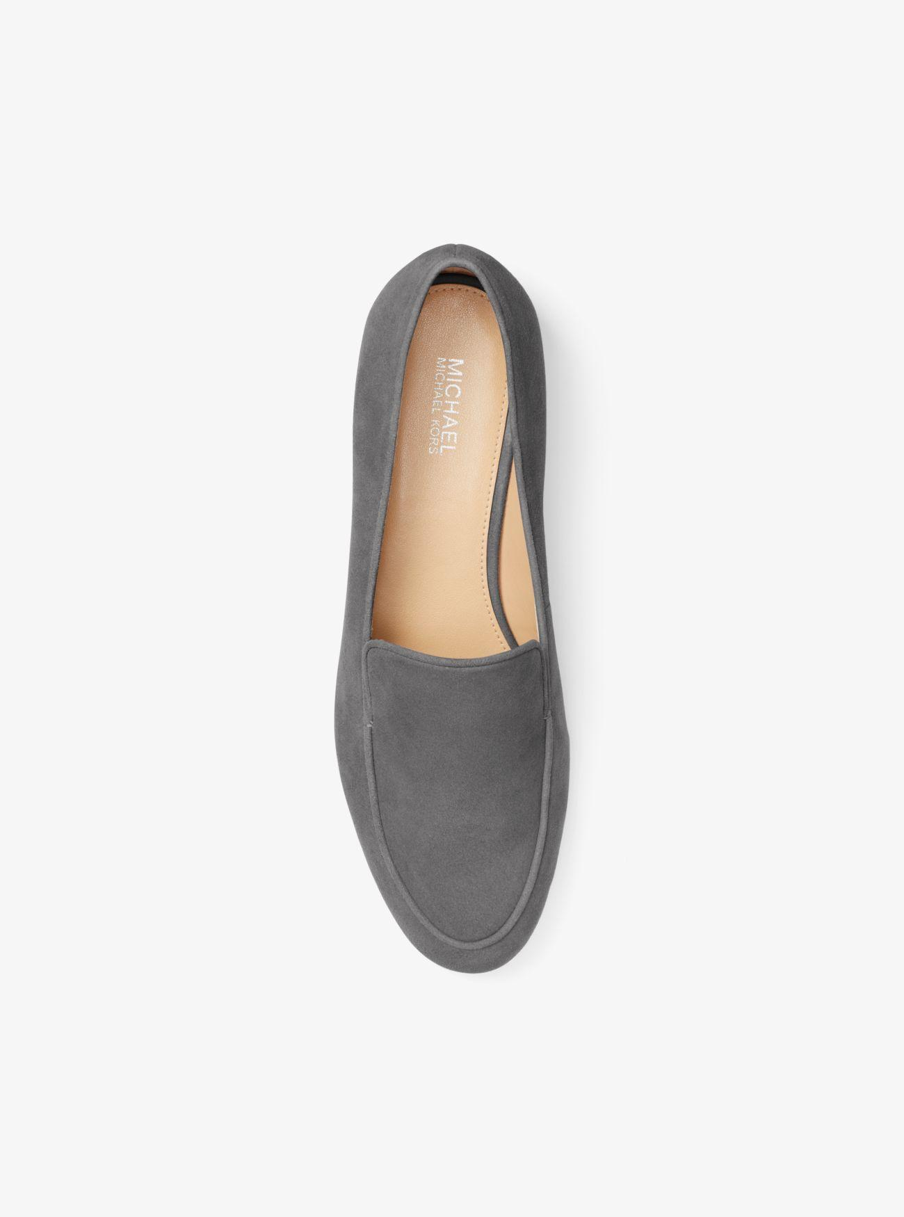 583d3635a64 Michael Kors - Gray Valerie Suede Loafer - Lyst. View fullscreen