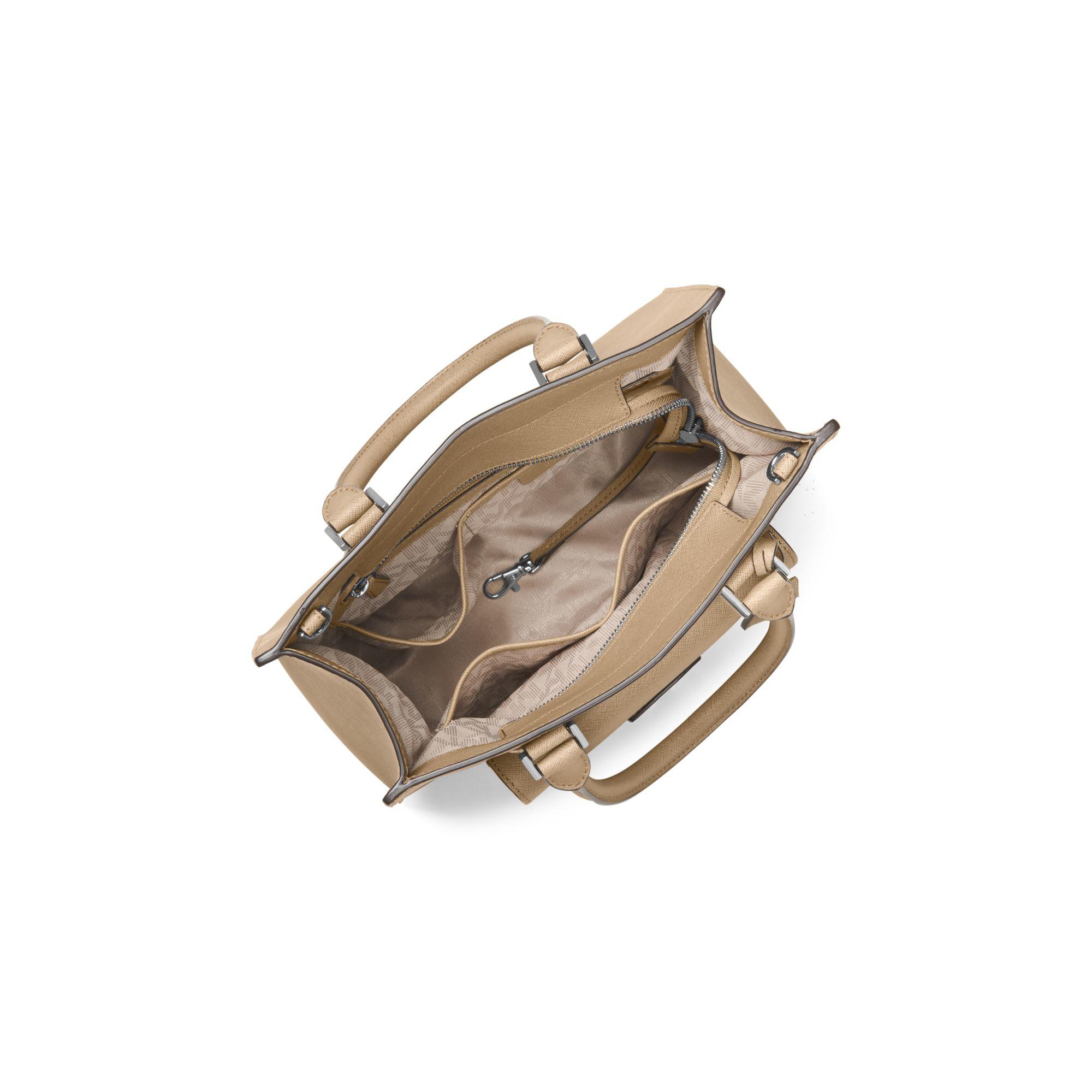 Michael Kors Bridgette Medium Saffiano Leather Tote In