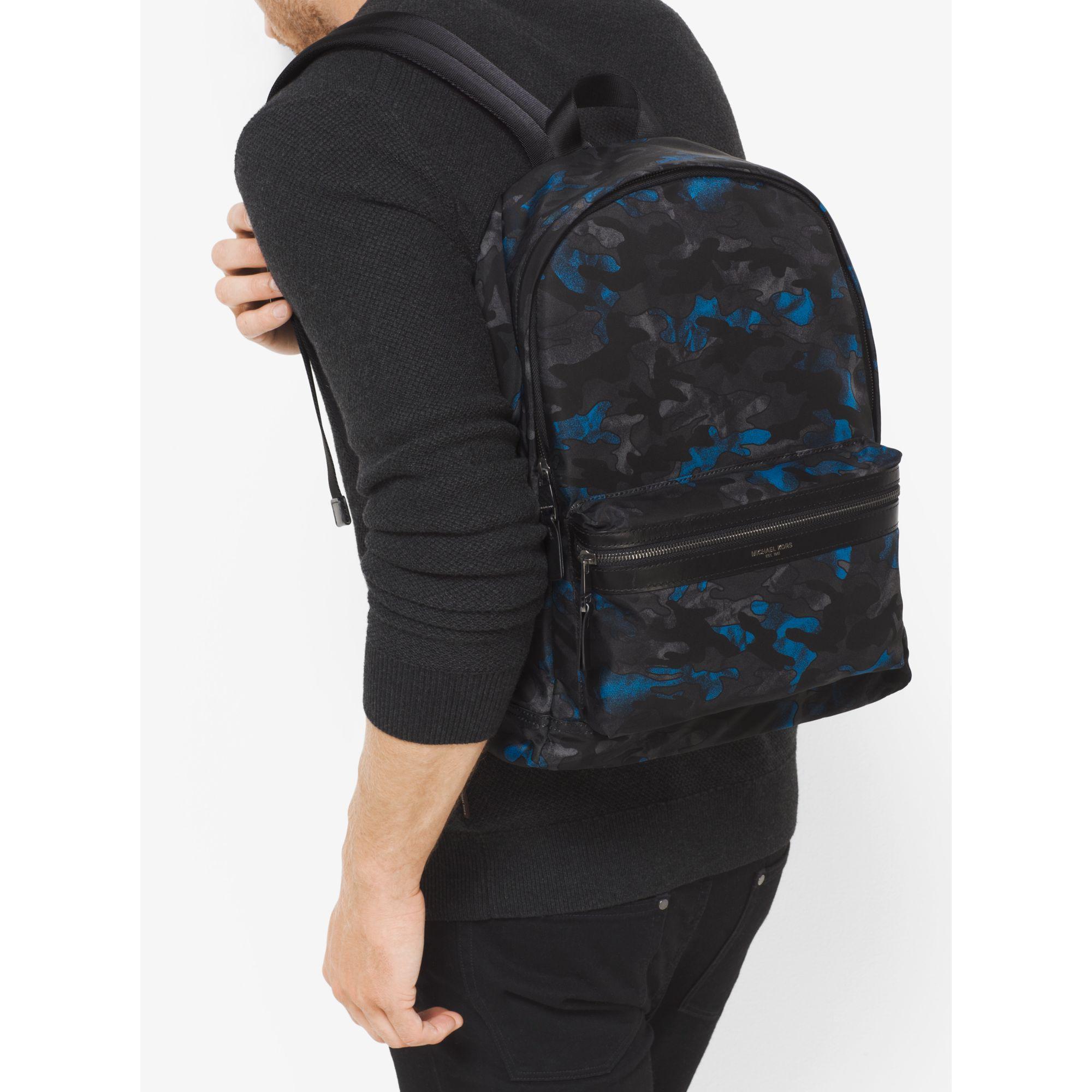9e562b57791f Michael Kors Mens Travis Camouflage Nylon Backpack- Fenix Toulouse ...