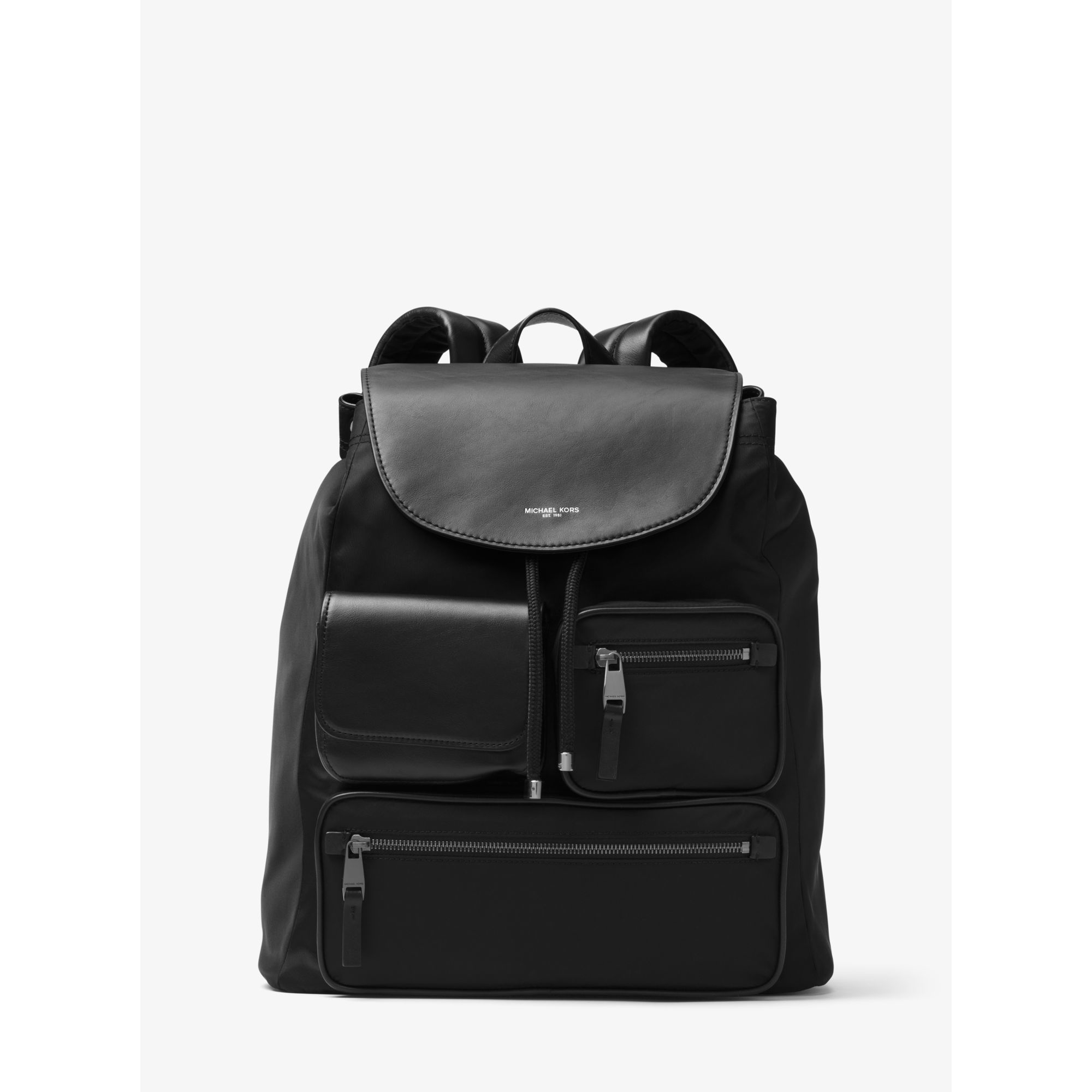 bd398b2d2d308 Lyst - Michael Kors Kent Nylon Cargo Backpack in Black for Men