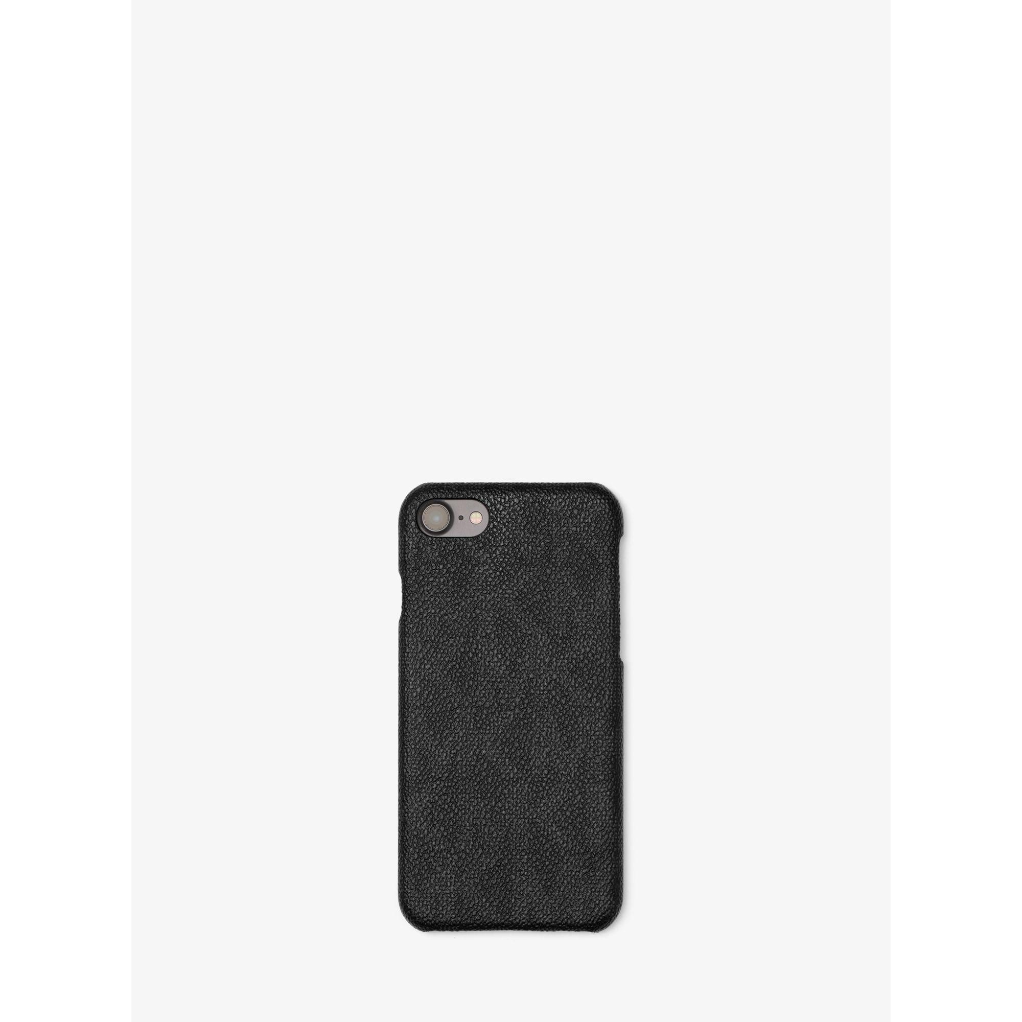 michael kors logo smartphone case for iphone 7 in black lyst. Black Bedroom Furniture Sets. Home Design Ideas