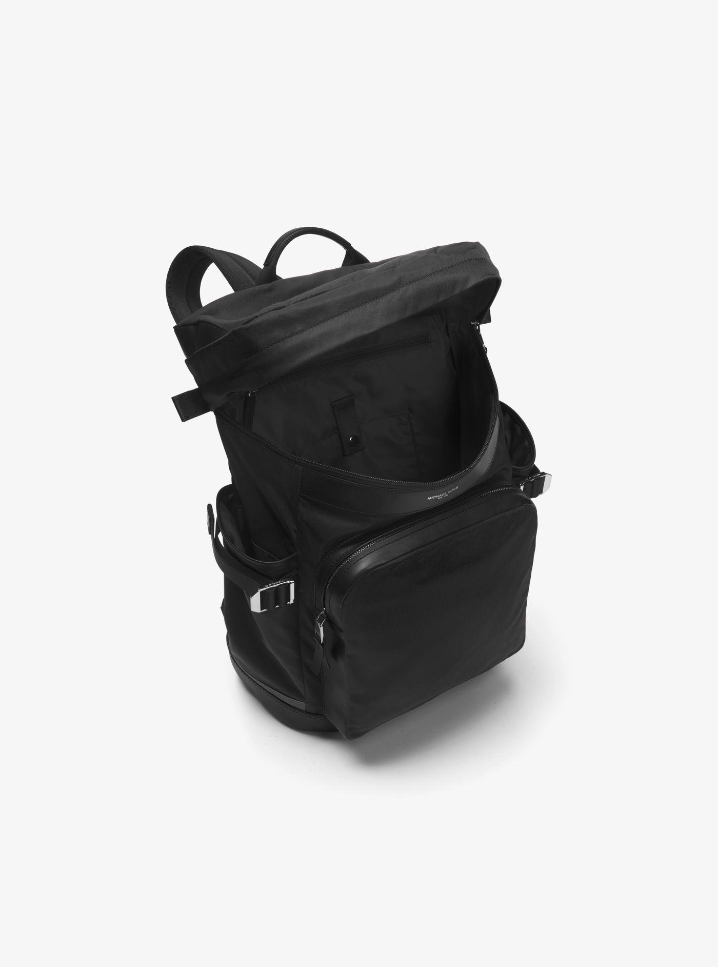 c2a7e726b0f1 Lyst - Michael Kors Kent Nylon Cycling Backpack in Black for Men