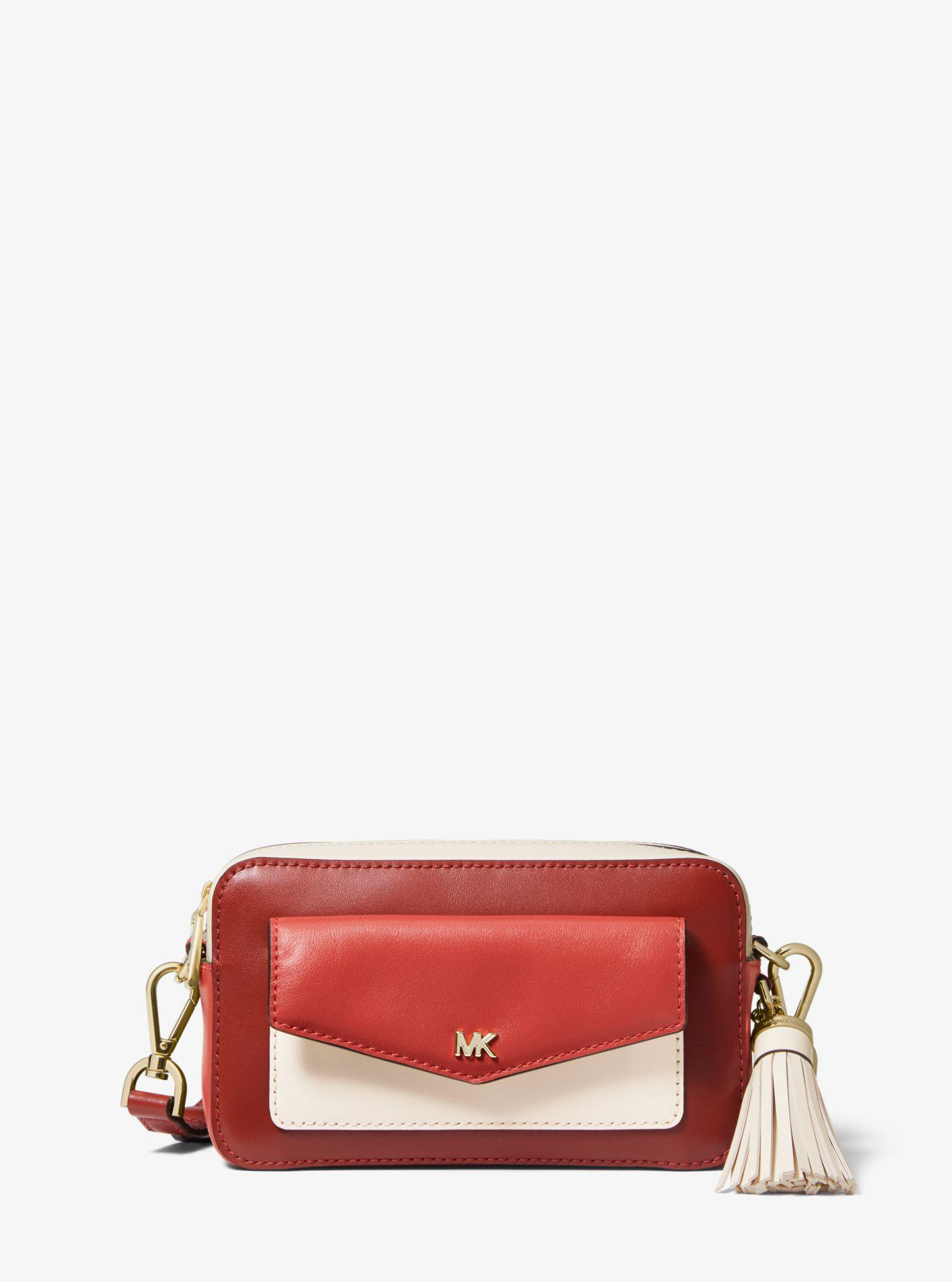 745fc6eeaa1b Michael Kors. Women s Small Tri-color Leather Camera Bag
