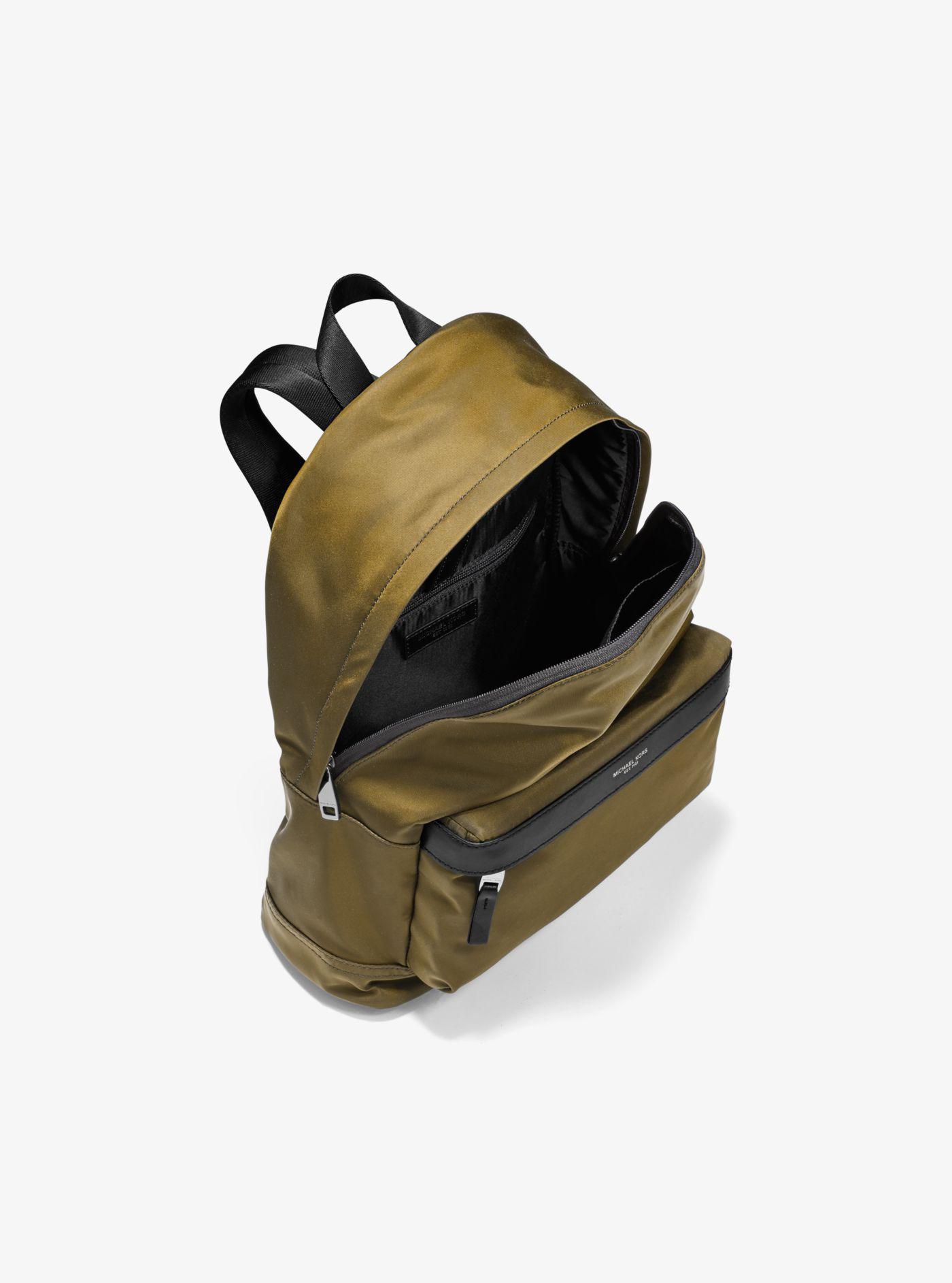 d942079a0c Michael Kors - Green Kent Nylon Backpack for Men - Lyst. View fullscreen